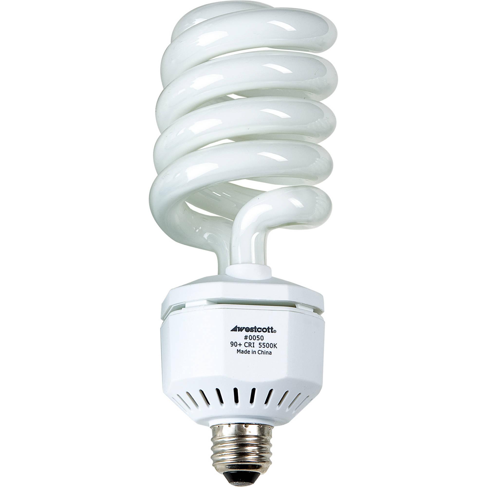 Westcott Fluorescent Lamp 50 Watts 120 Volts 5500k 0050 B H