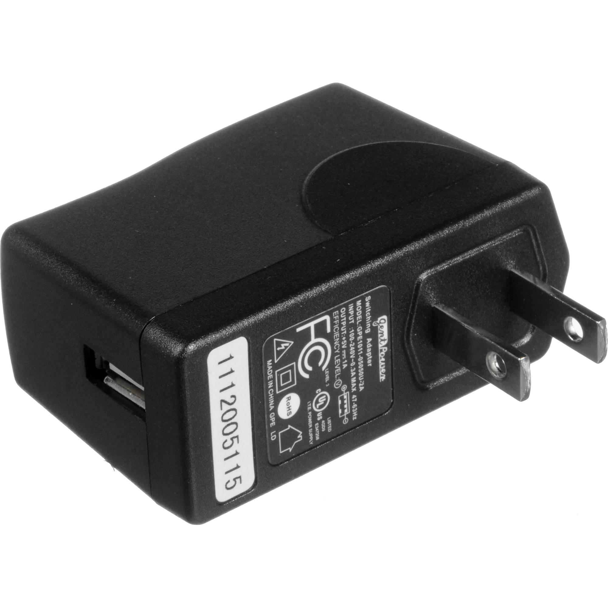 Wolverine Data Power Adapter For F2D Film-To-Digital F2DPA B&H