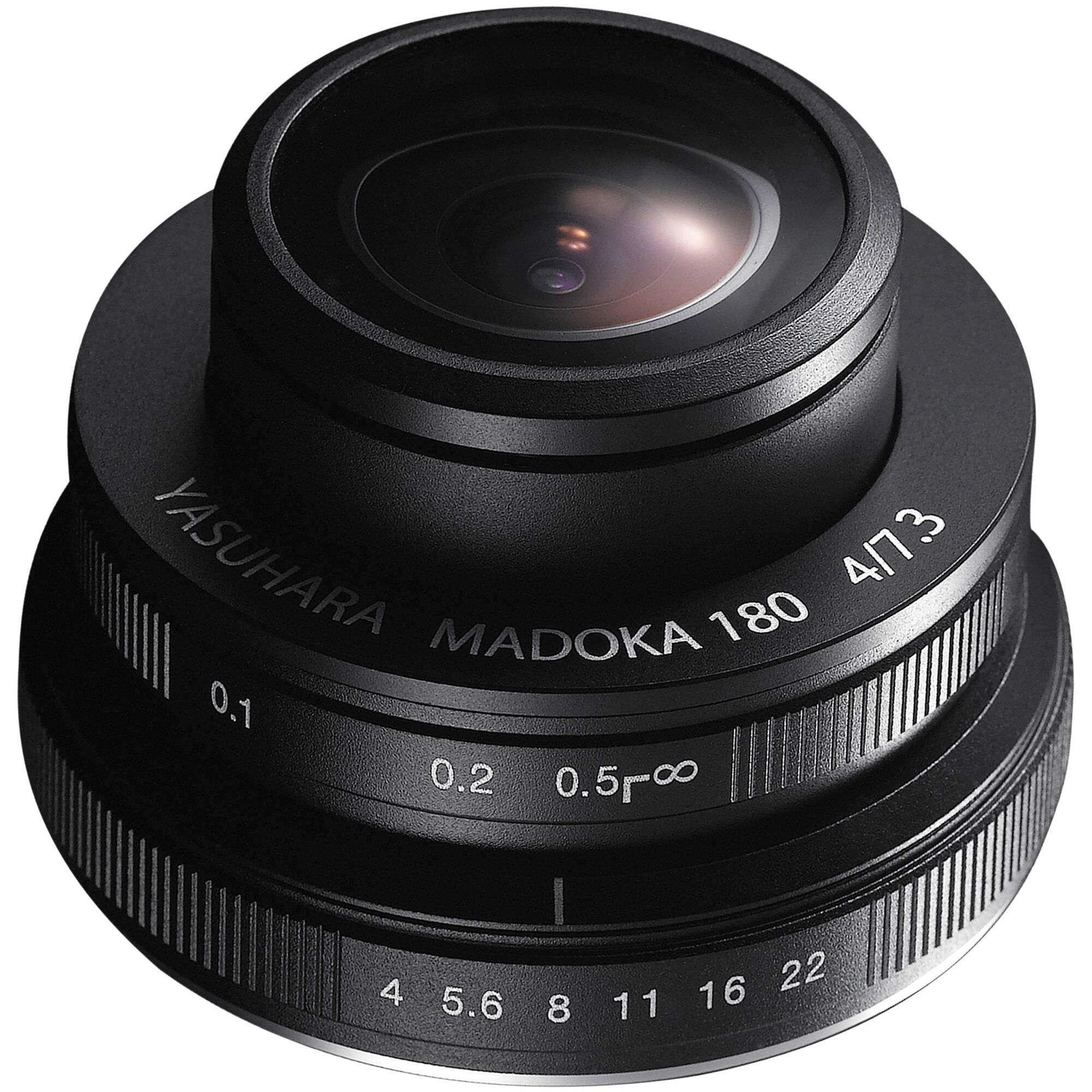 Yasuhara madoka 180 fisheye lens for sony e mount for Fish eye camera