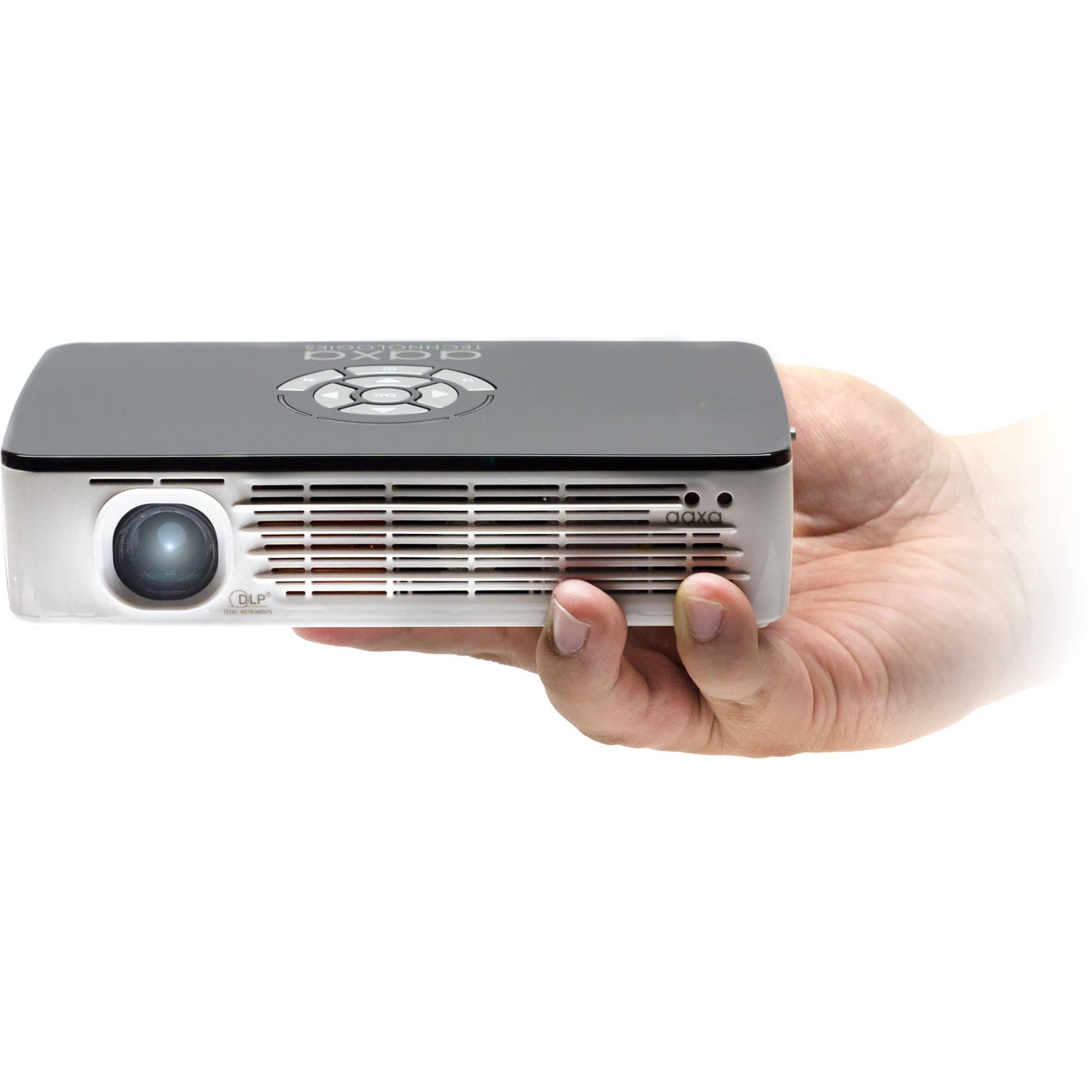 Aaxa technologies p700 pro 650 lumen wxga led pico kp 700 for Pico pro mini projector review