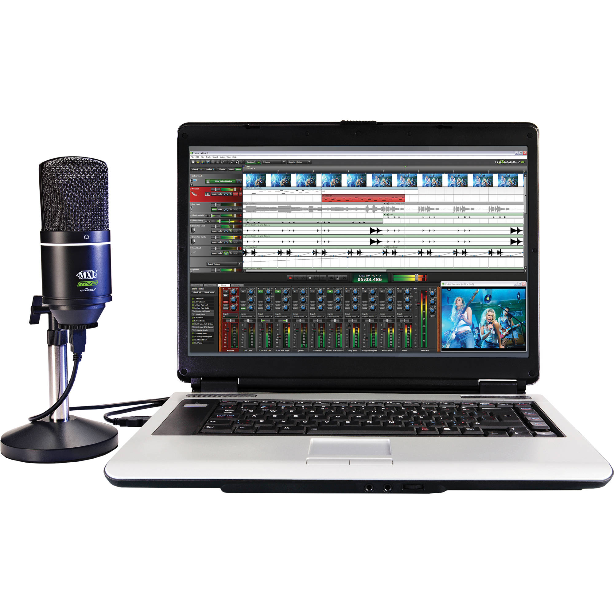 Acoustica Mvsacta Recording Software