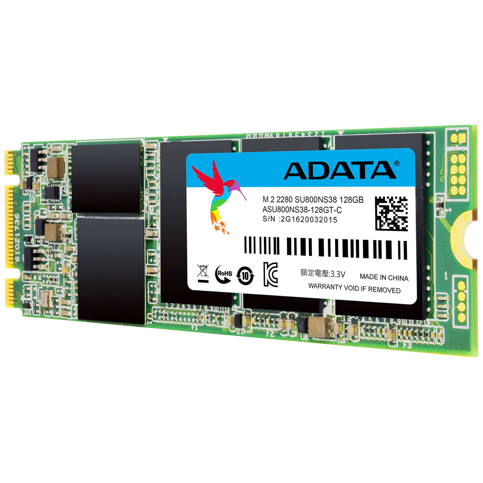 ADATA Technology 128GB Ultimate SU800 M.2 2280 3D NAND SSD