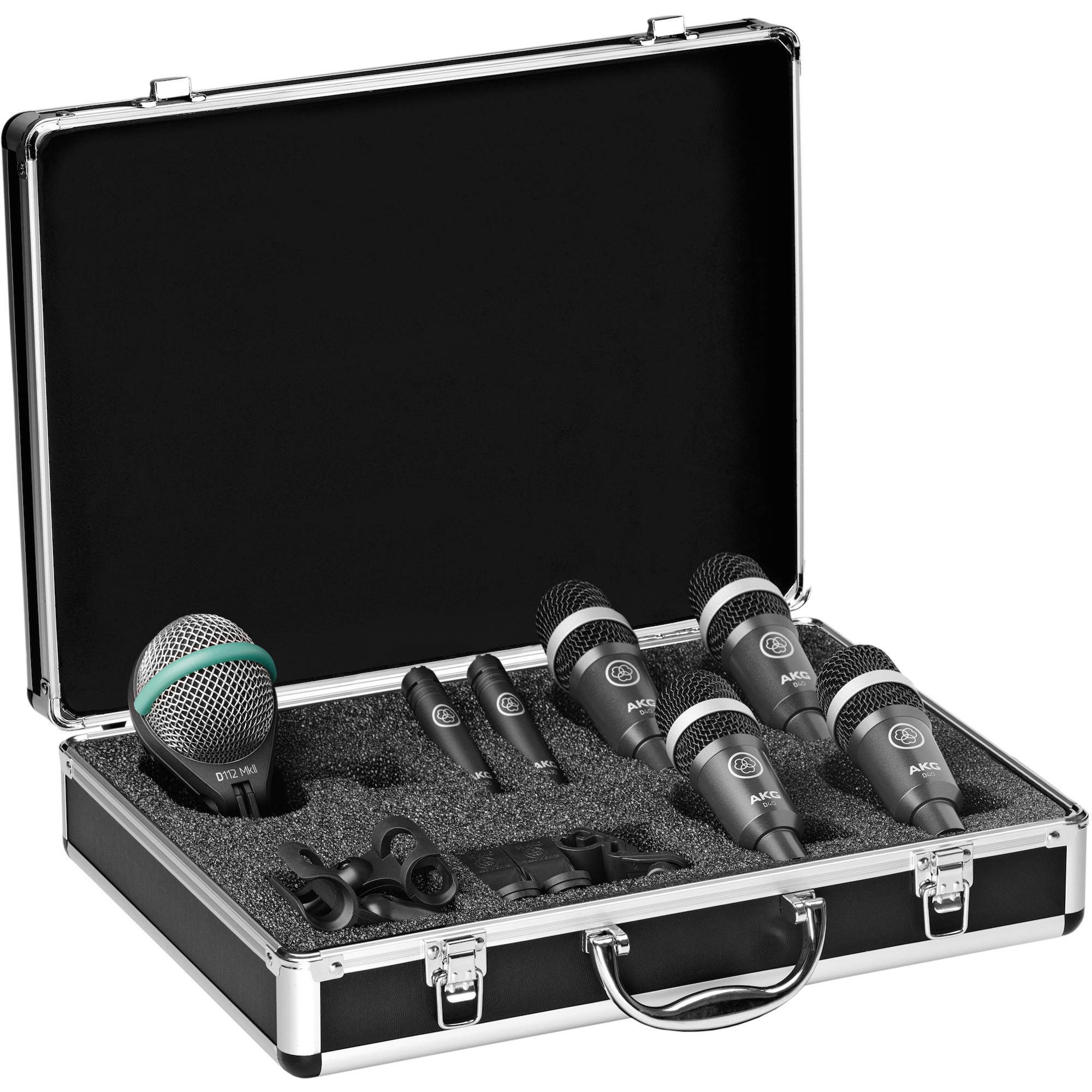 akg drum set concert 1 professional drum microphone set. Black Bedroom Furniture Sets. Home Design Ideas