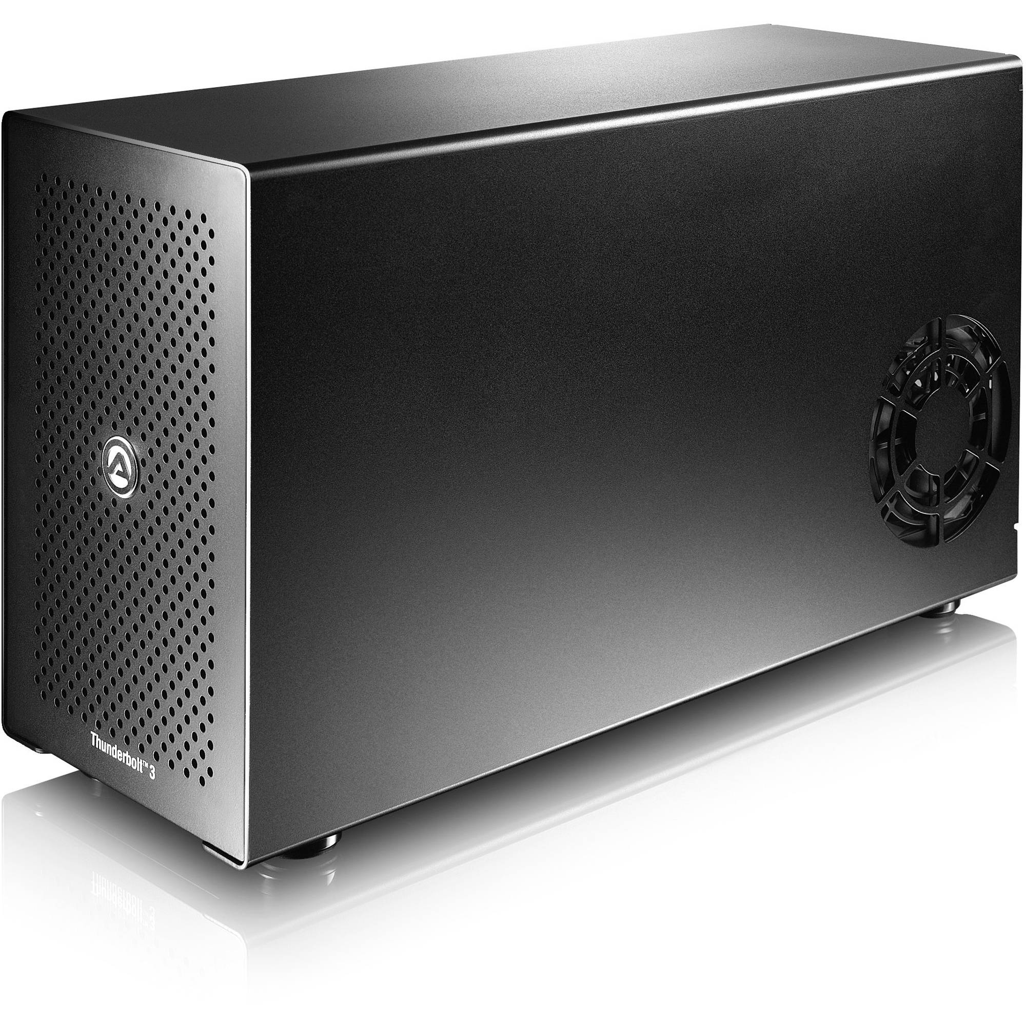 Akitio Node Thunderbolt 3 External Pcie Box Ak T3ia Aktu Extractor Fan And A 2 Way Switch Boardsie For Gpus