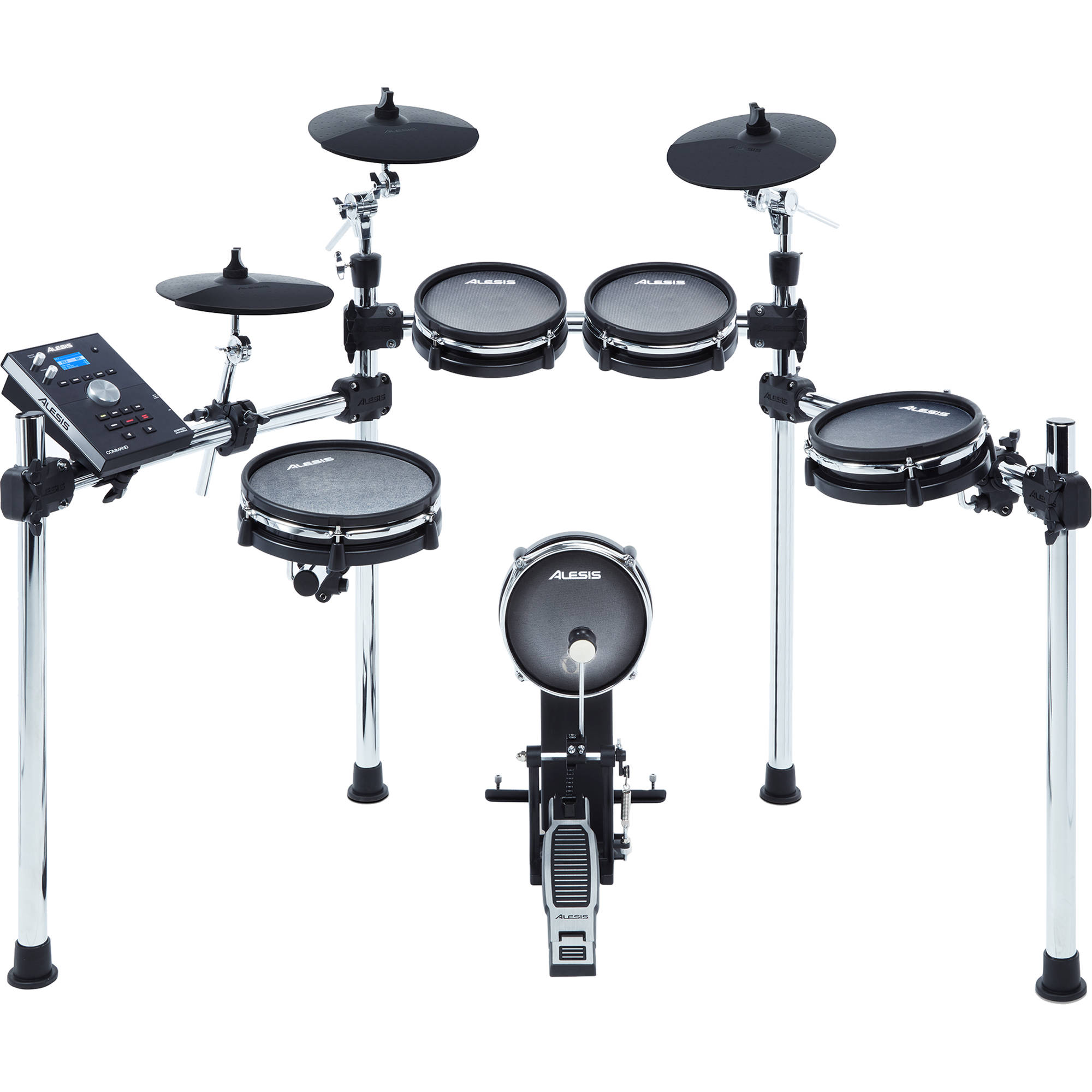 alesis command mesh 8 piece electronic drum kit command mesh kit. Black Bedroom Furniture Sets. Home Design Ideas