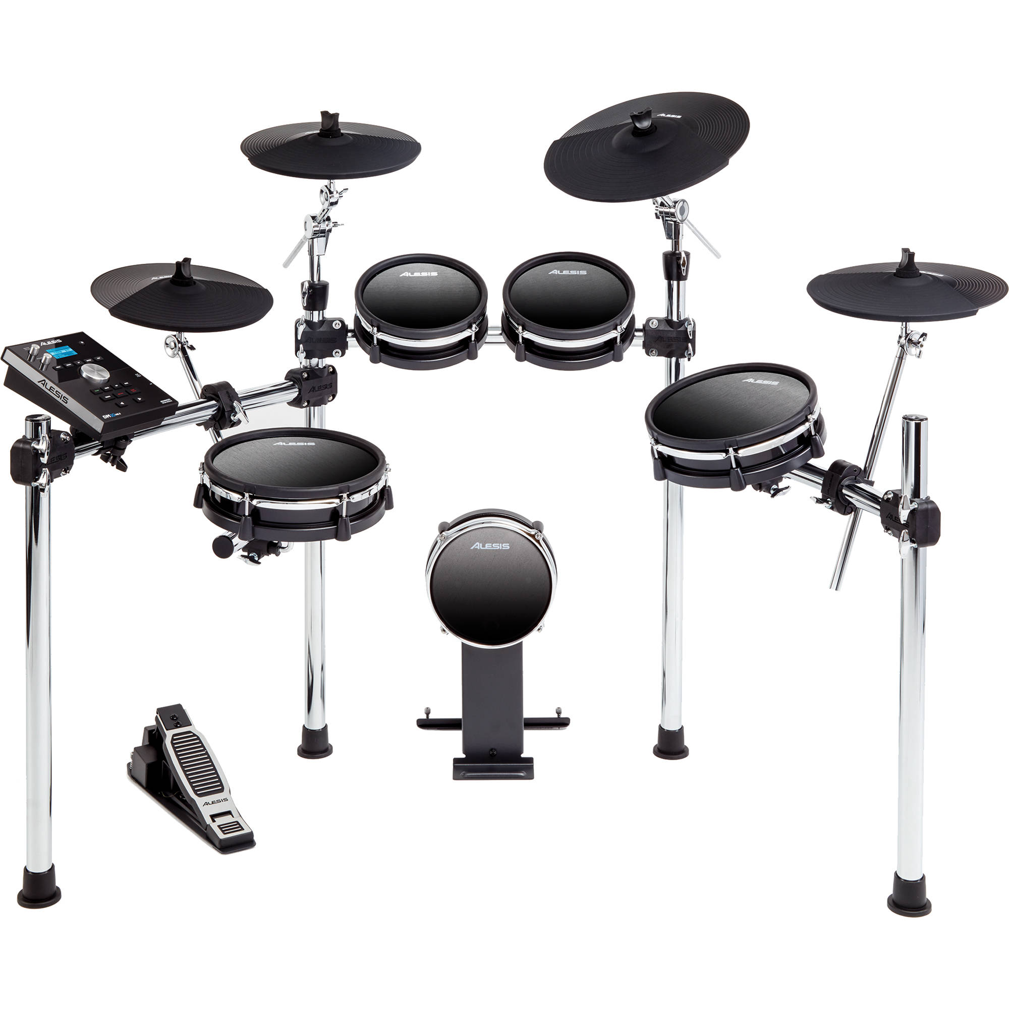 alesis dm10 mkii studio kit nine piece dm10 mkii studio kit b h. Black Bedroom Furniture Sets. Home Design Ideas