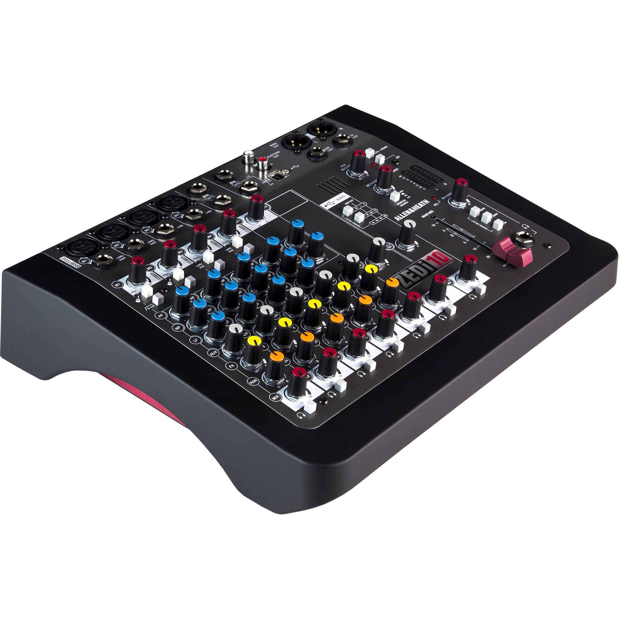 allen heath zedi 10 compact hybrid mixer usb interface. Black Bedroom Furniture Sets. Home Design Ideas