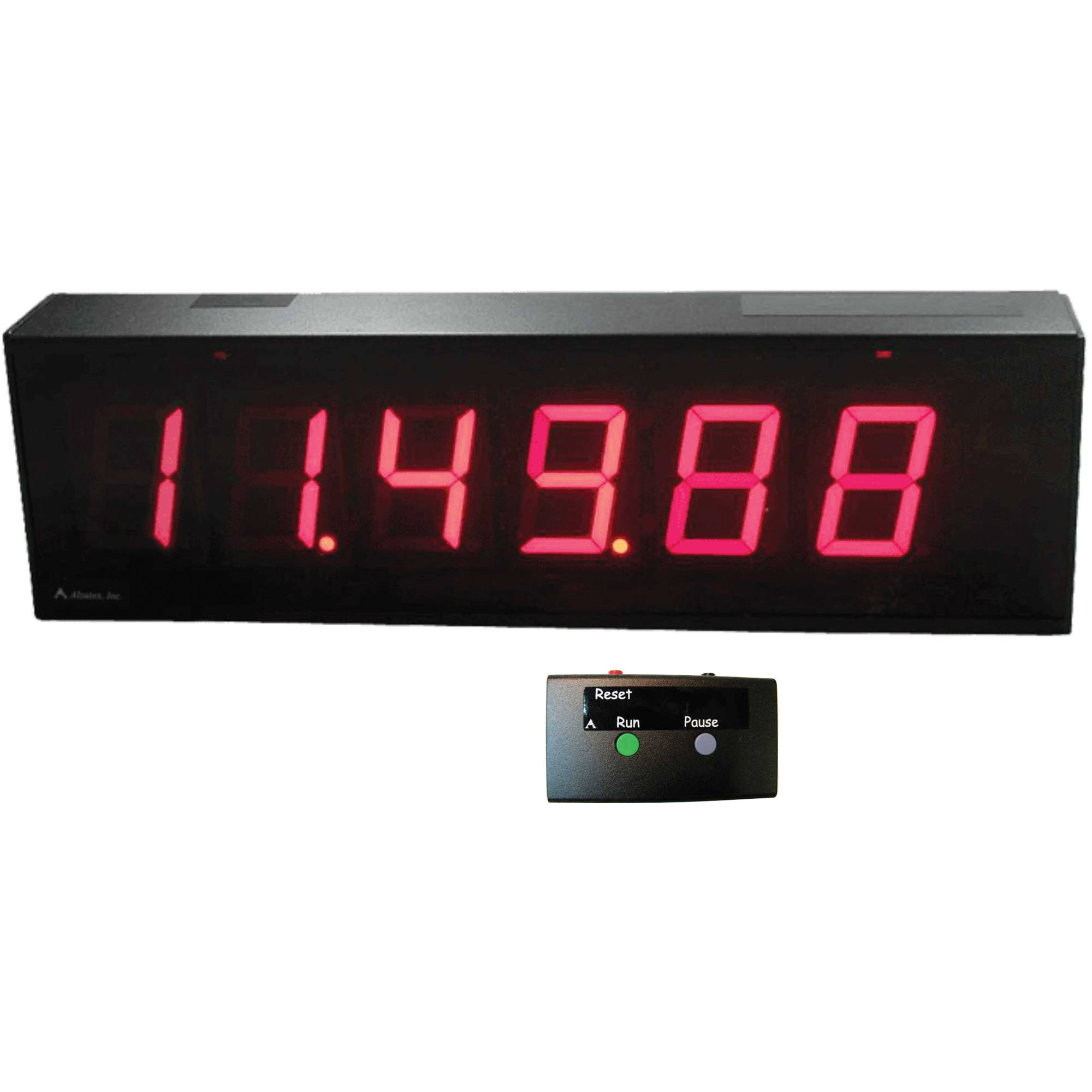 alzatex DSP256B_U 6- Digit Race Clock DSP256B_U B&H Photo Video