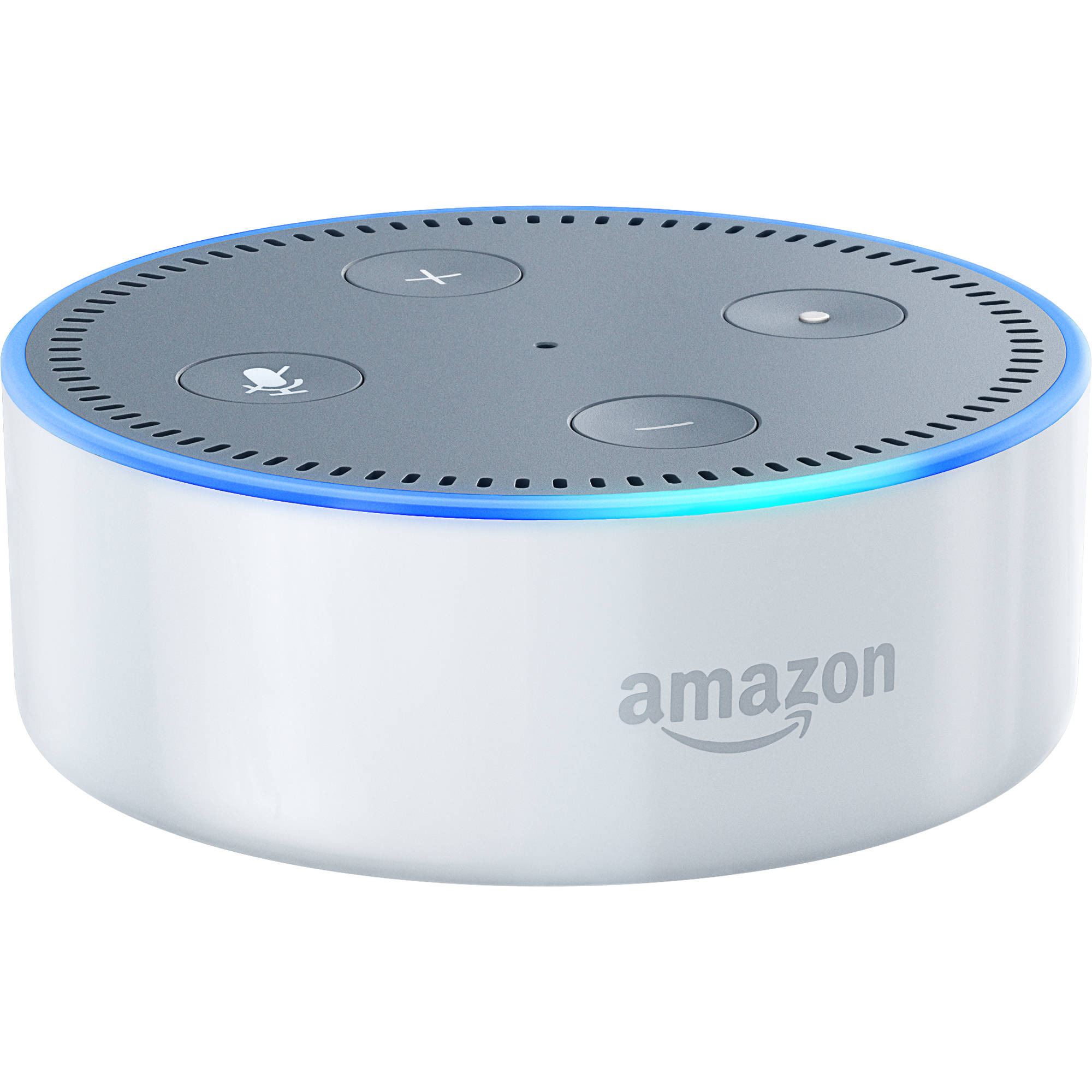 Amazon Echo Dot (2nd Generation, White) B015TJD0Y4 B&H Photo