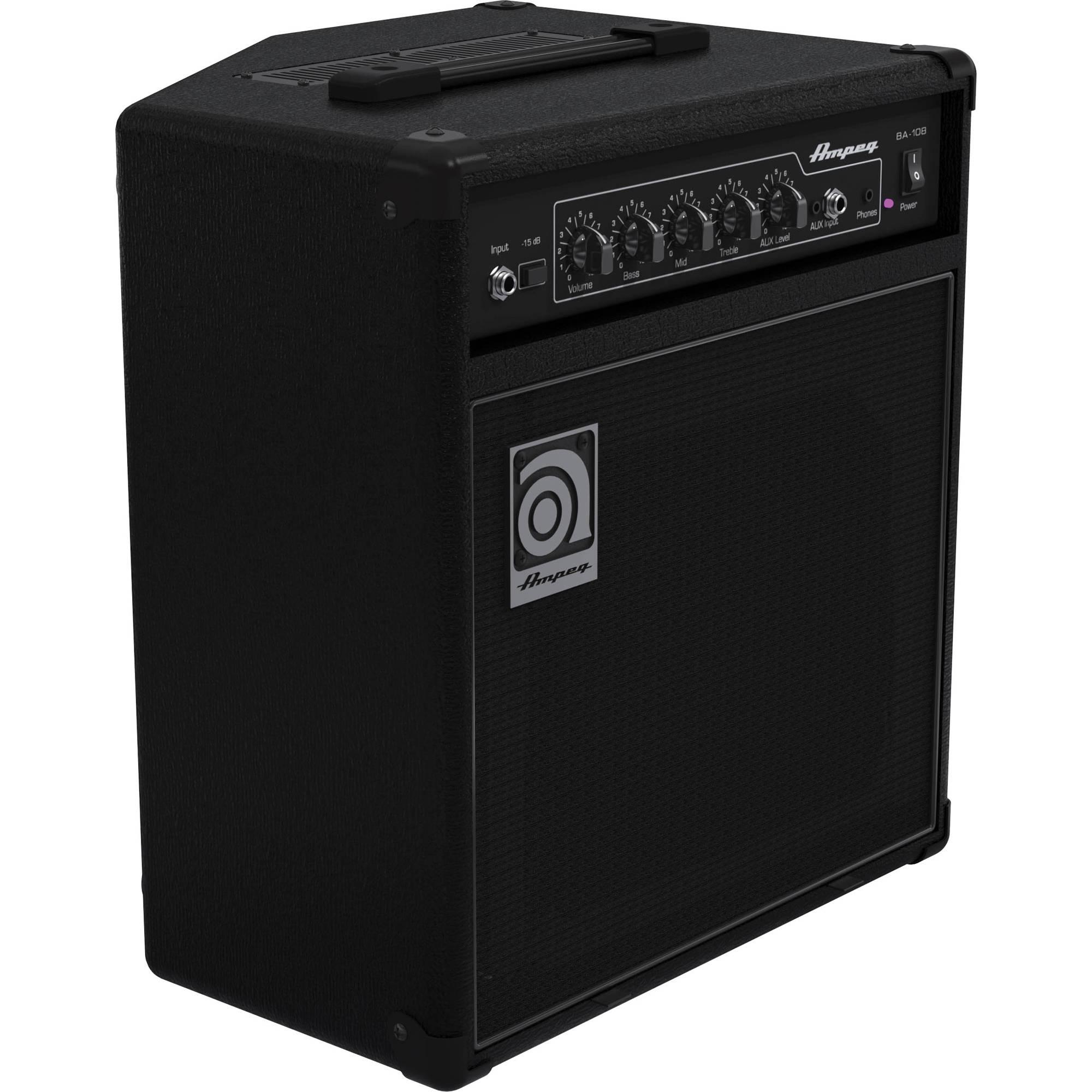 Combo Bass Amplifiers : ampeg ba 108v2 1x8 combo bass amp ba 108v2 b h photo video ~ Vivirlamusica.com Haus und Dekorationen