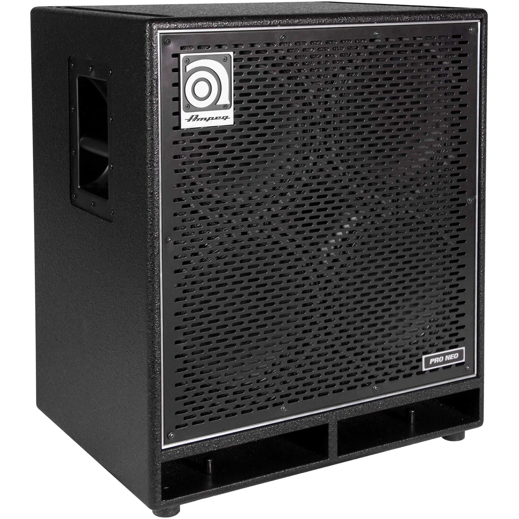 4x10 Guitar Cabinet Ampeg Pro Neo Pn 410hlf 4x10 850w Bass Guitar Cabinet Pn 410hlf