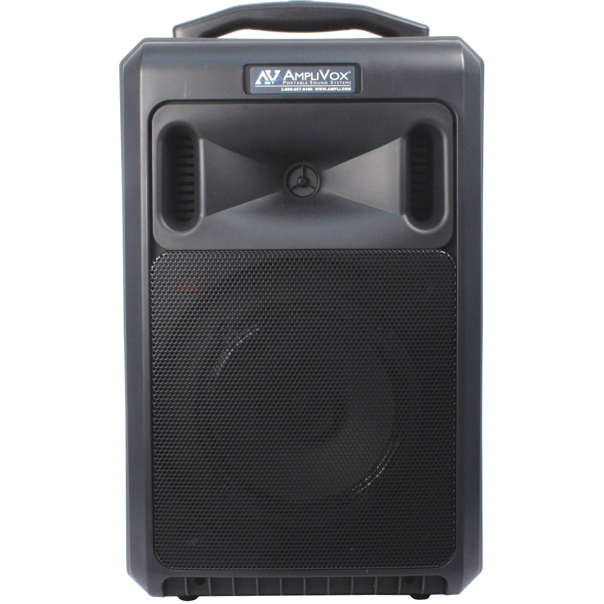 Portable Pa System With Wireless Speakers Wire Center Hi Fi Tone Control Circuit C1815 8211 C945 Amplivox Sound Systems Sw800l Titan Rh Bhphotovideo Com Speaker Presentation