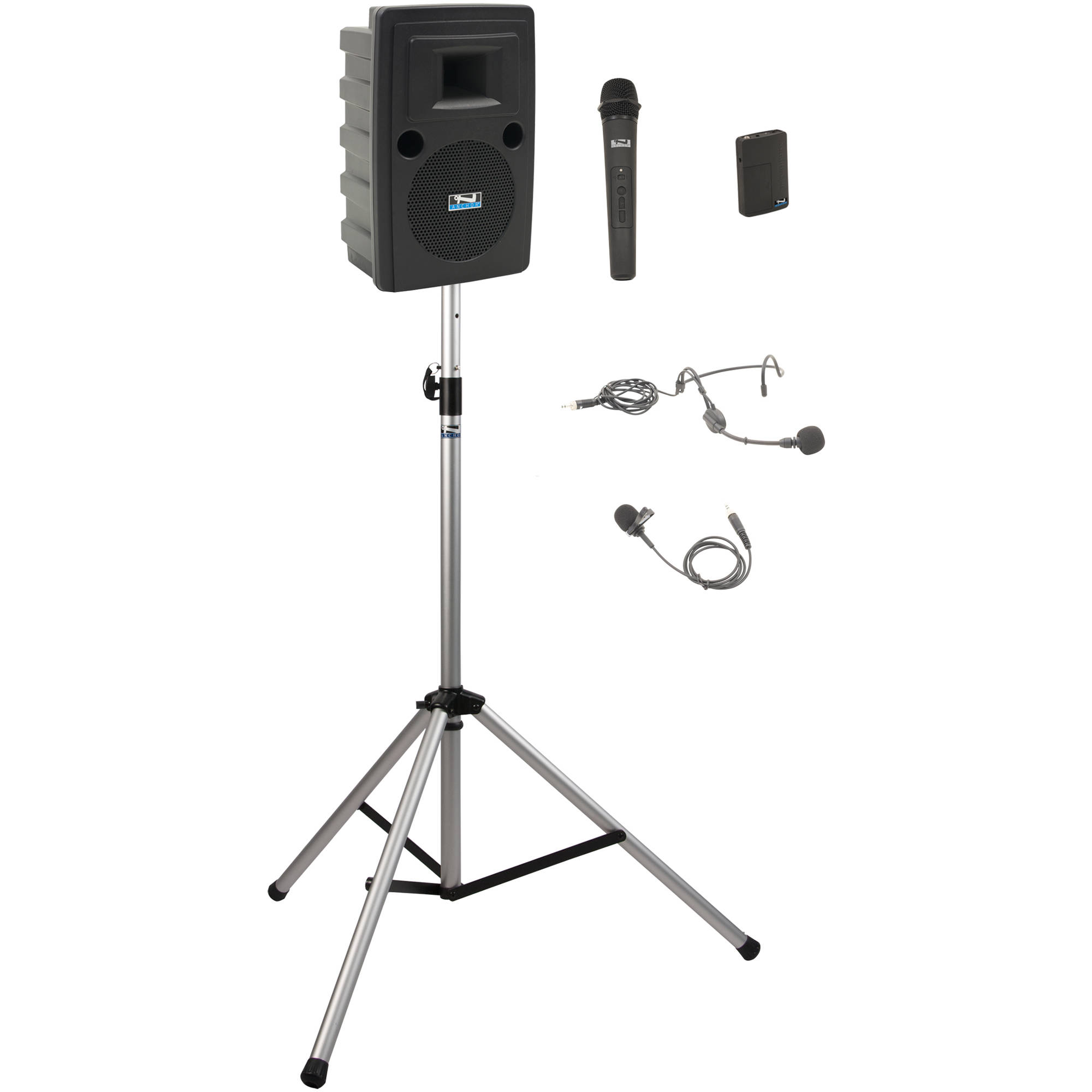 Anchor Audio Lib Bp2 Hb Liberty Basic Package 2 Cable Neutrik Xlr 1 4quot Combo Jacks And Phantom Power Sound Design Portable Bluetooth Pa System