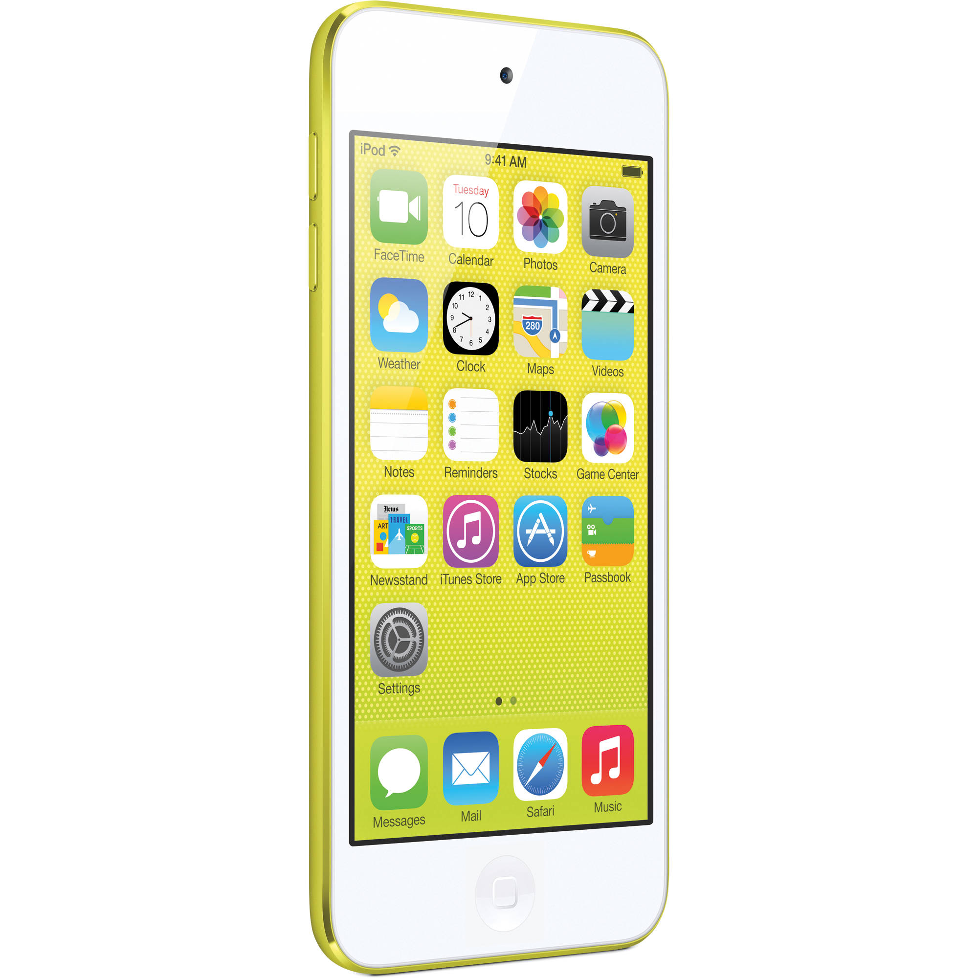 Apple 16GB iPod touch (Yellow) (5th Generation) MGG12LL/A B&H