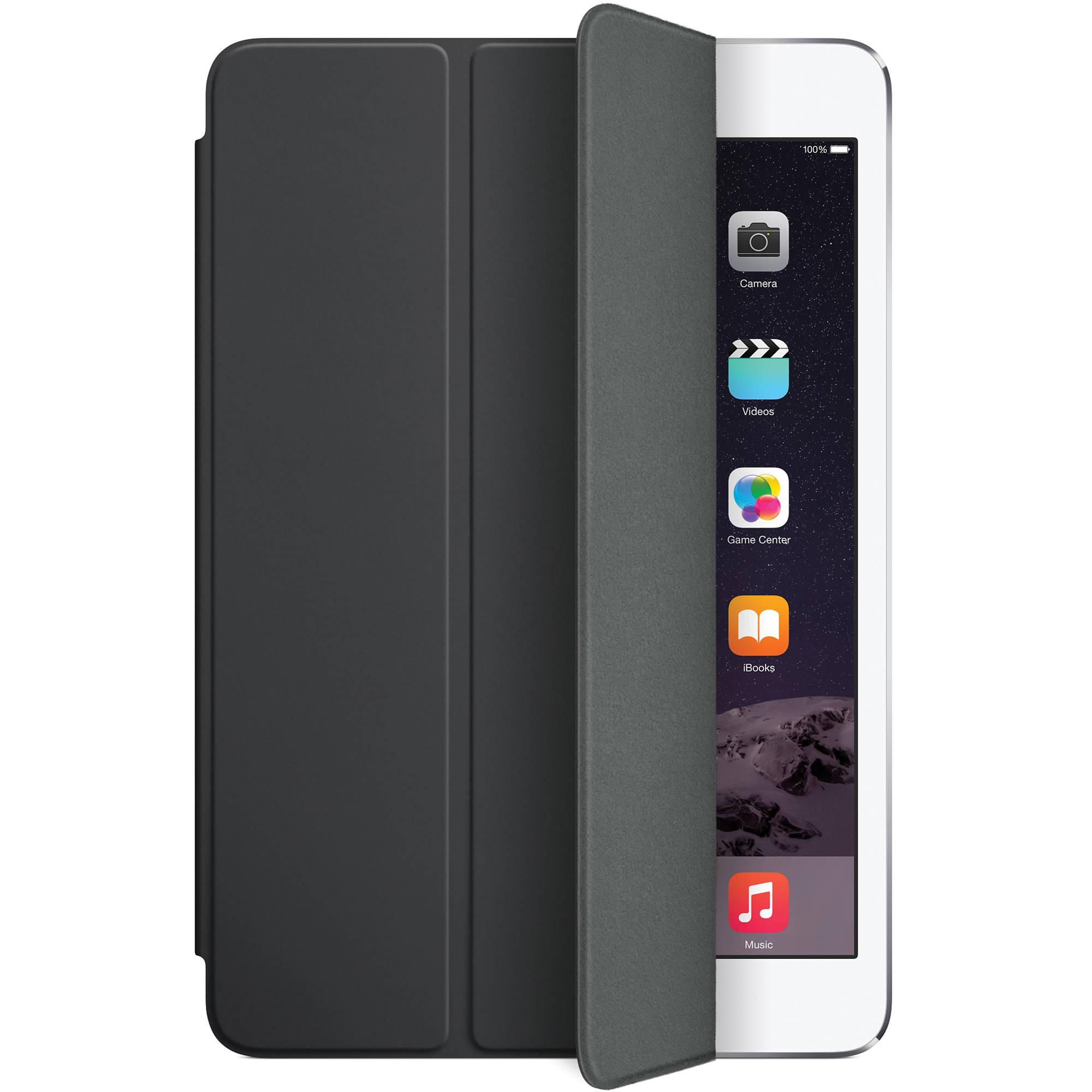 Apple Smart Cover for iPad mini 1/2/3 (Black) MGNC2ZM/A B&H