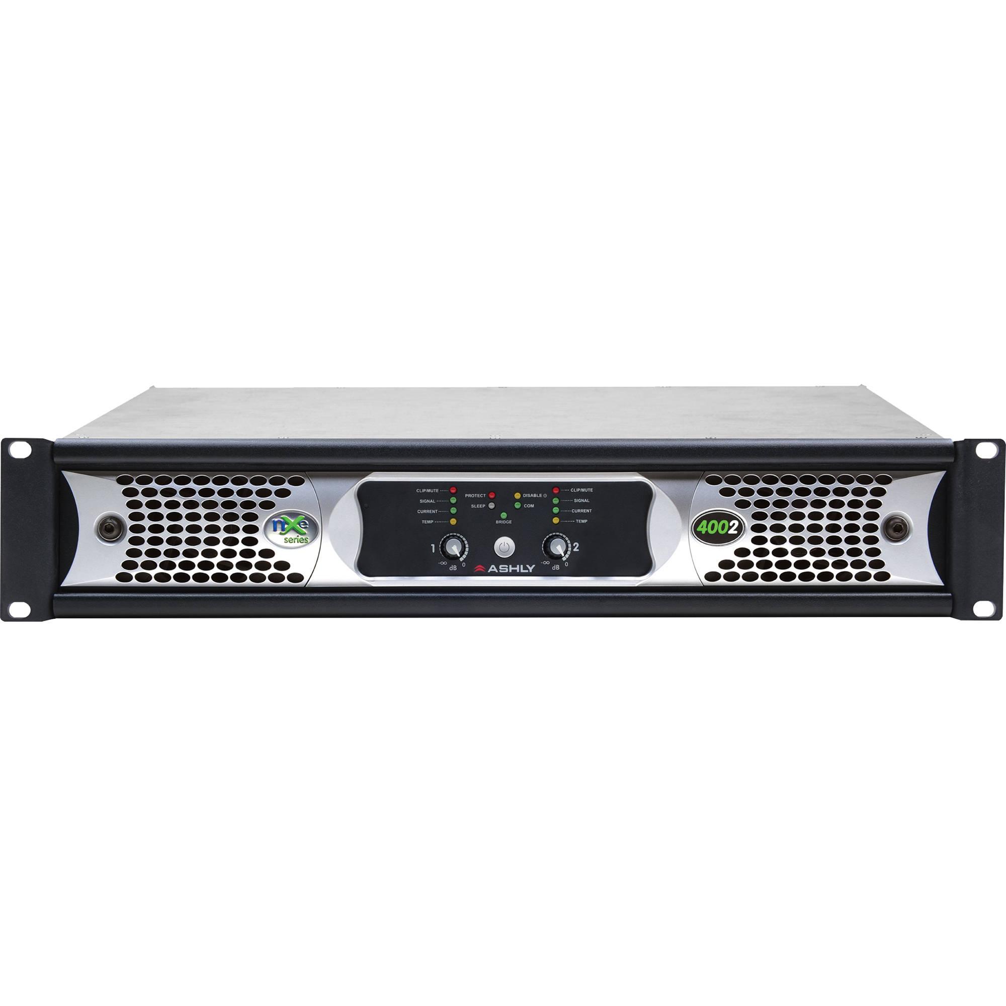 ashly nxe series nxe4002 2 channel 400w power amplifier nxe4002 rh bhphotovideo com