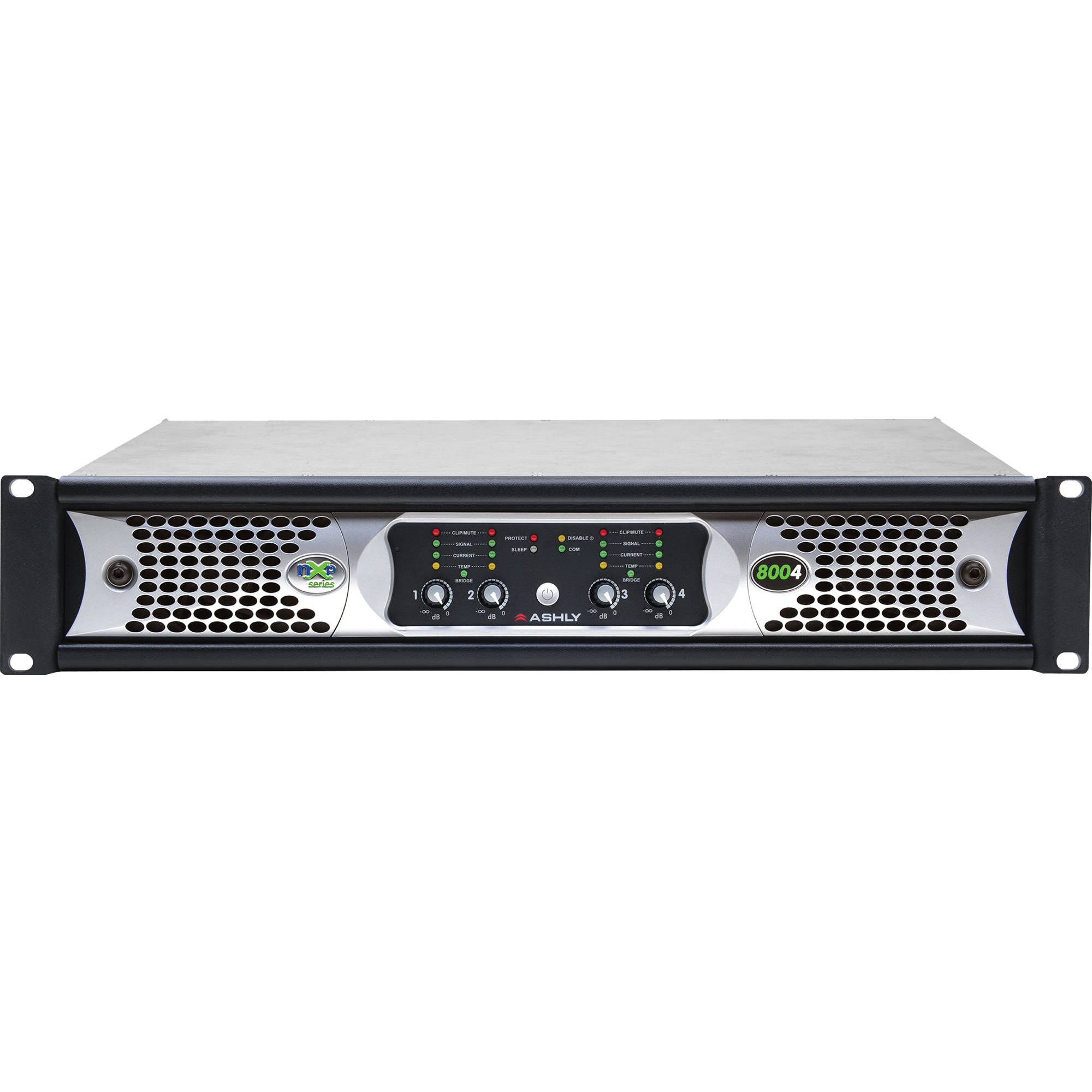 Ashly Nxp Series Nxp8004 4 Channel 800w Power Amplifier Circuitgreen Actual Circuit Red Linkwitzriley Crossover With Programmable Outputs Protea Software