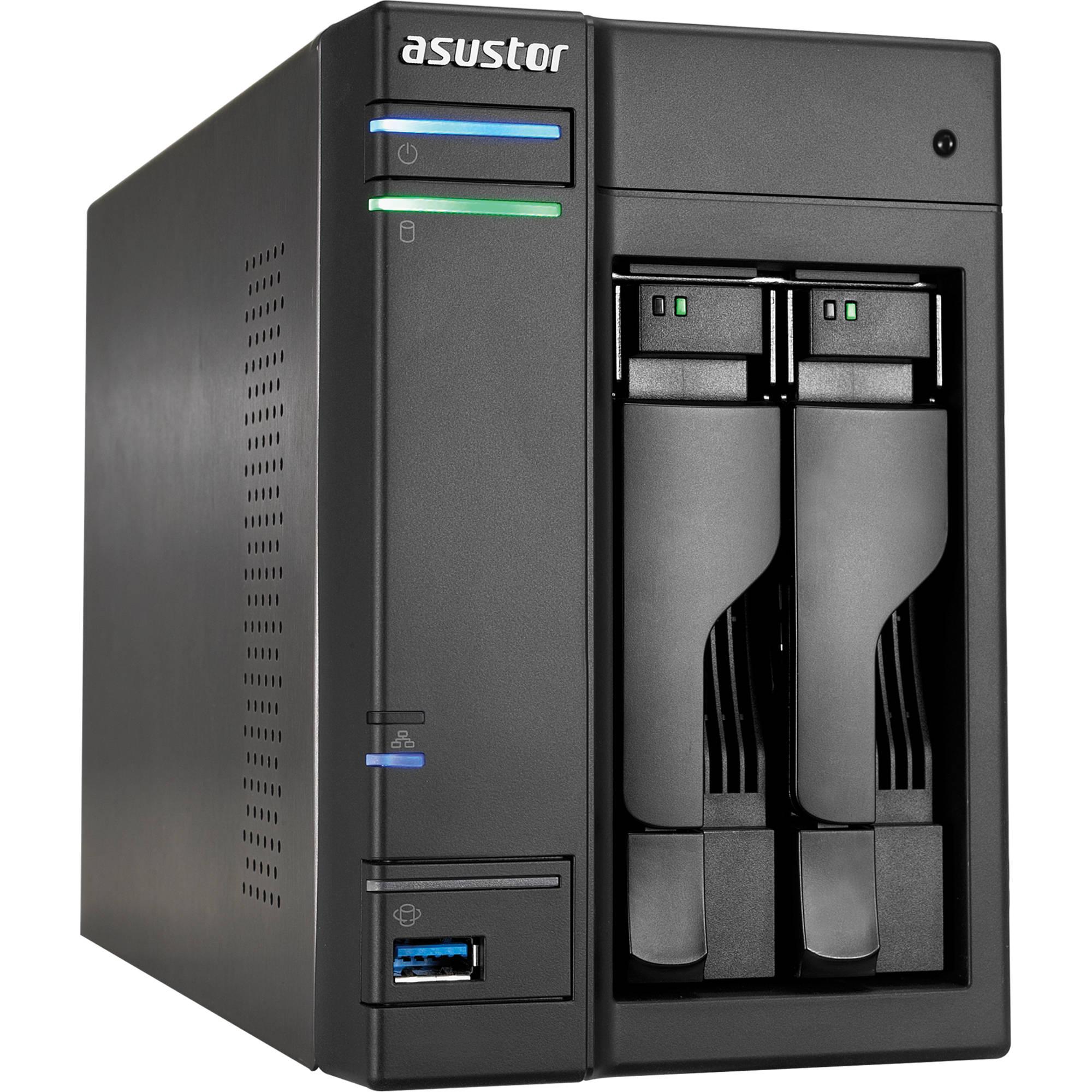 Asustor AS 202TE 2 Bay Data Storage Server Diskless AS 202TE