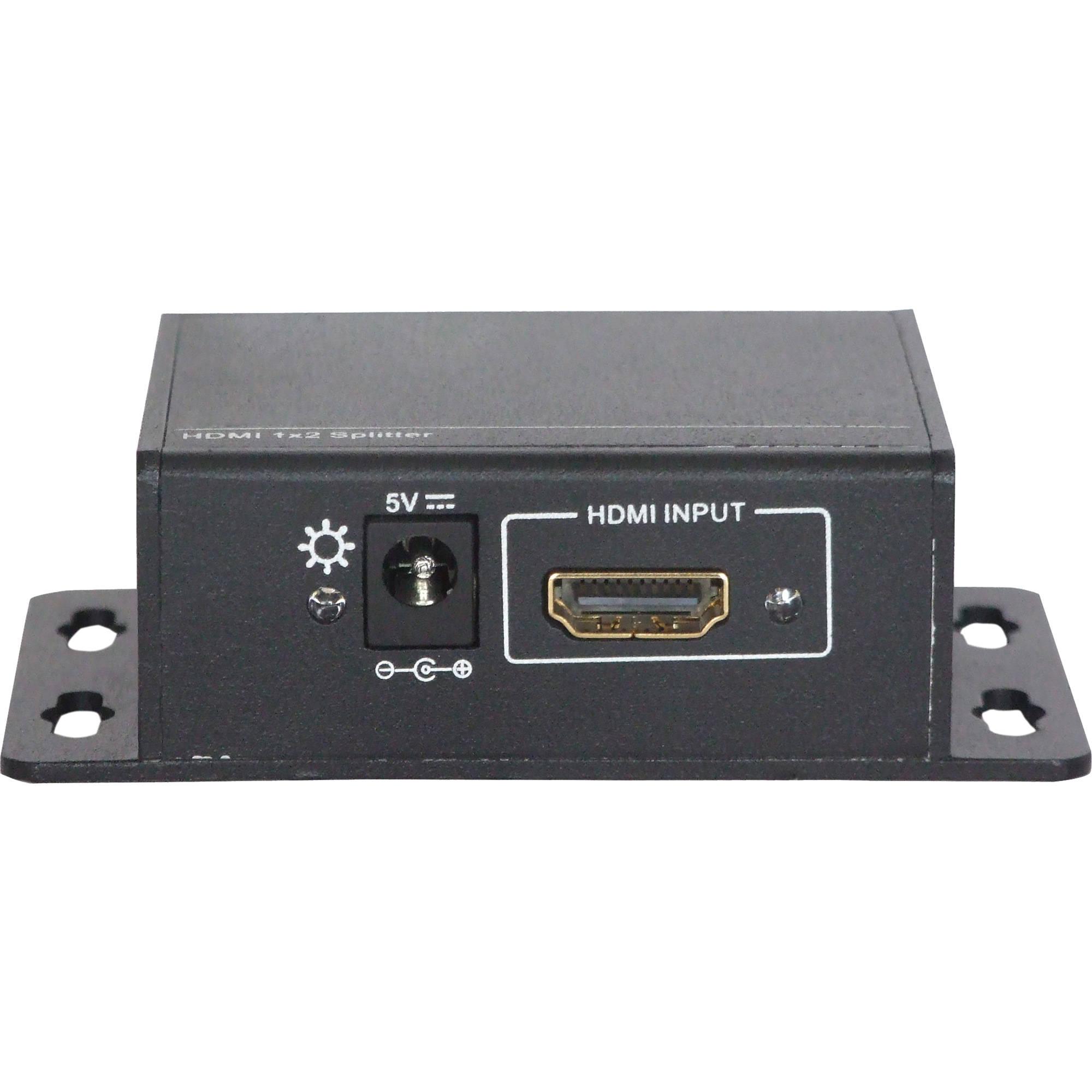 Aurora Multimedia 1 x 2 HDMI UHD 4K Distribution ASP-12H-4K B&H