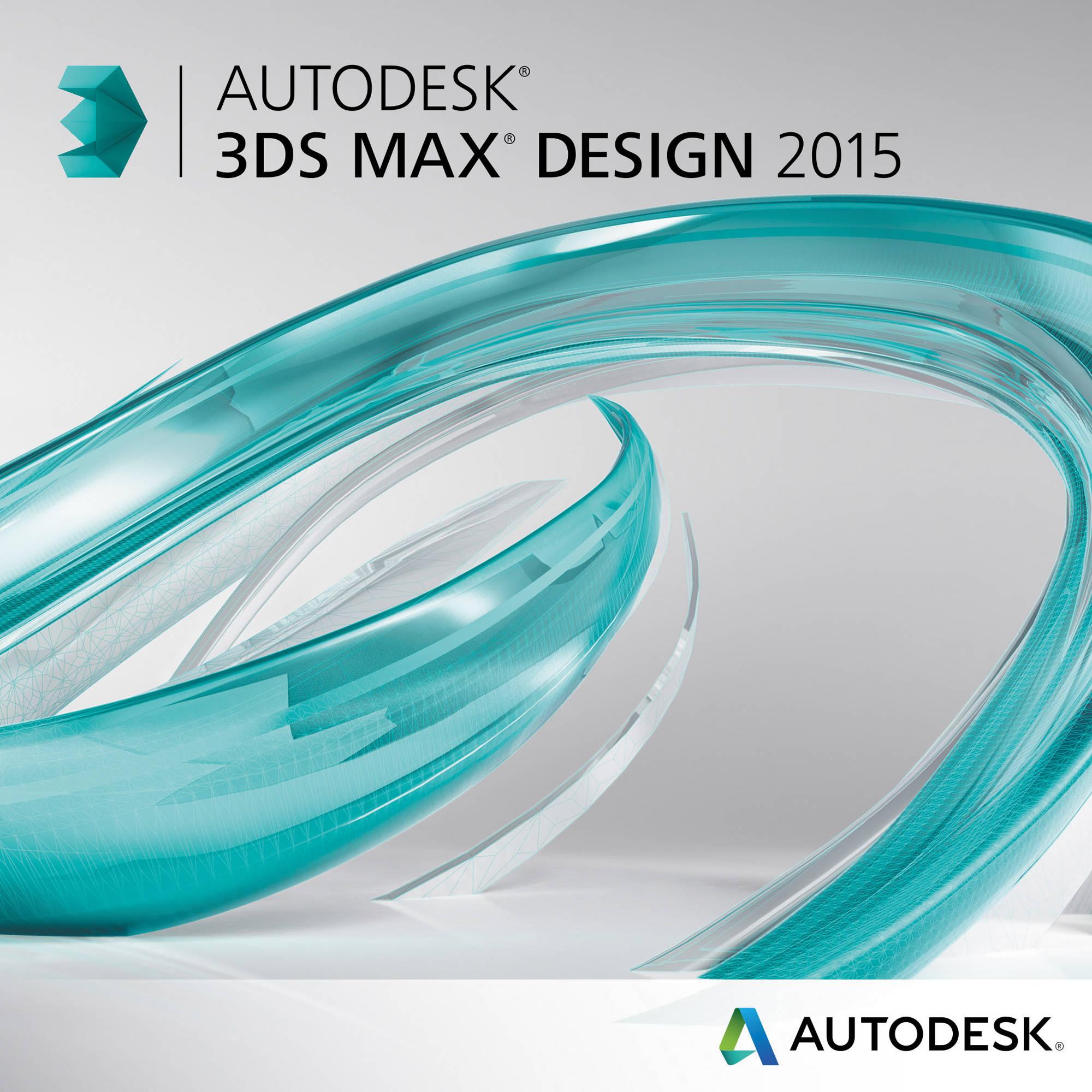 Best Free 3d Home Design Software 2015: Autodesk 3ds Max Design 2015 (Download) 495G1-WWR111-1001 B&H