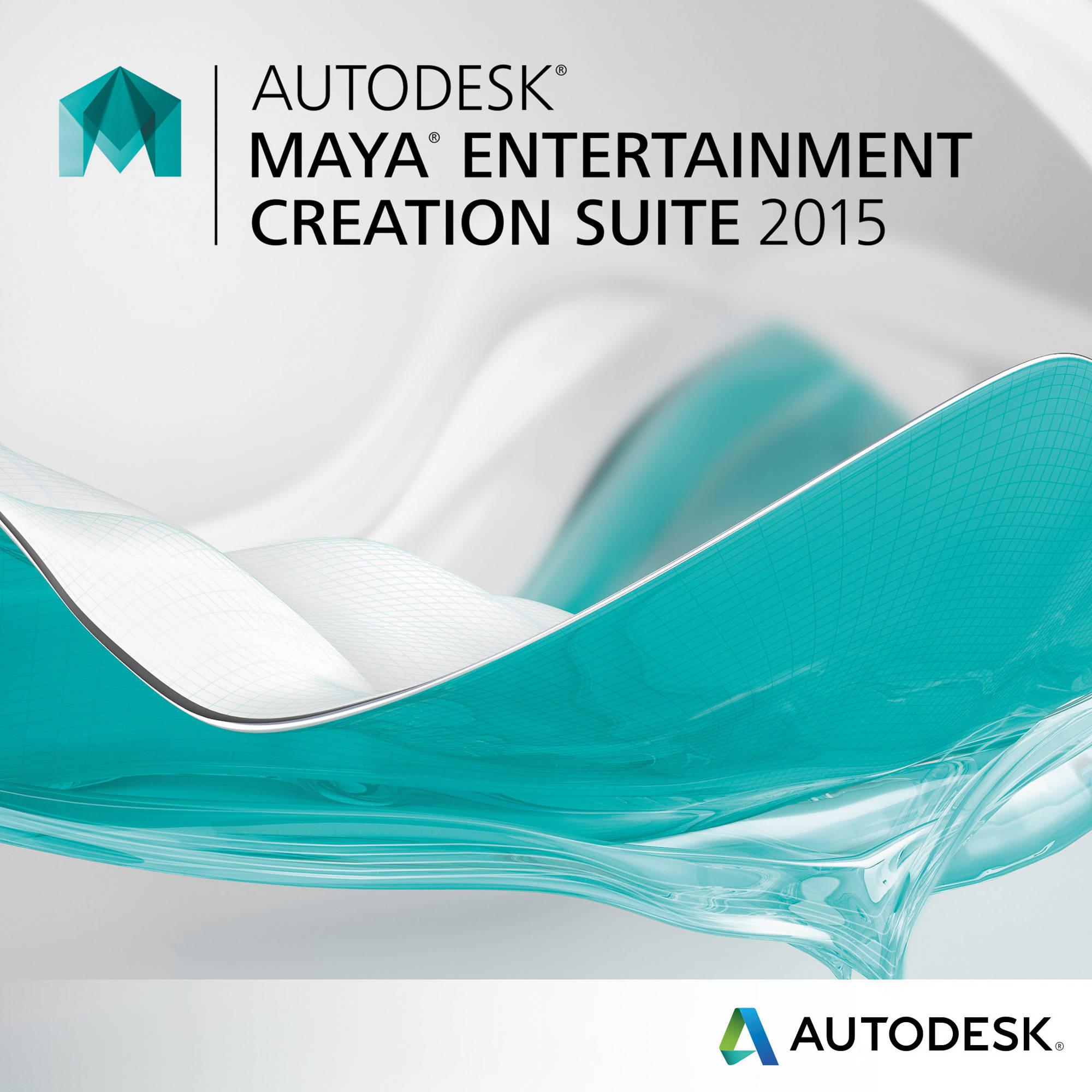 Autodesk Maya Entertainment Creation Suite 660g1 Wwr111 1001 Bh Circuit Wizard Standard Edition Download 2015
