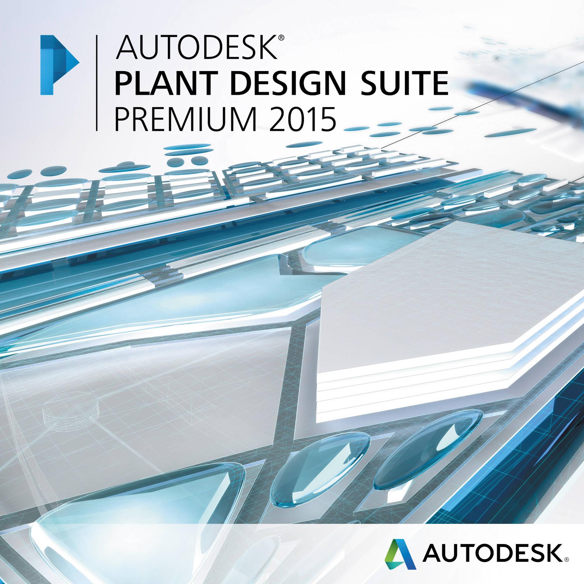 Autodesk Plant Design Suite Premium 2015 763G1-WWR111-1001 B&H
