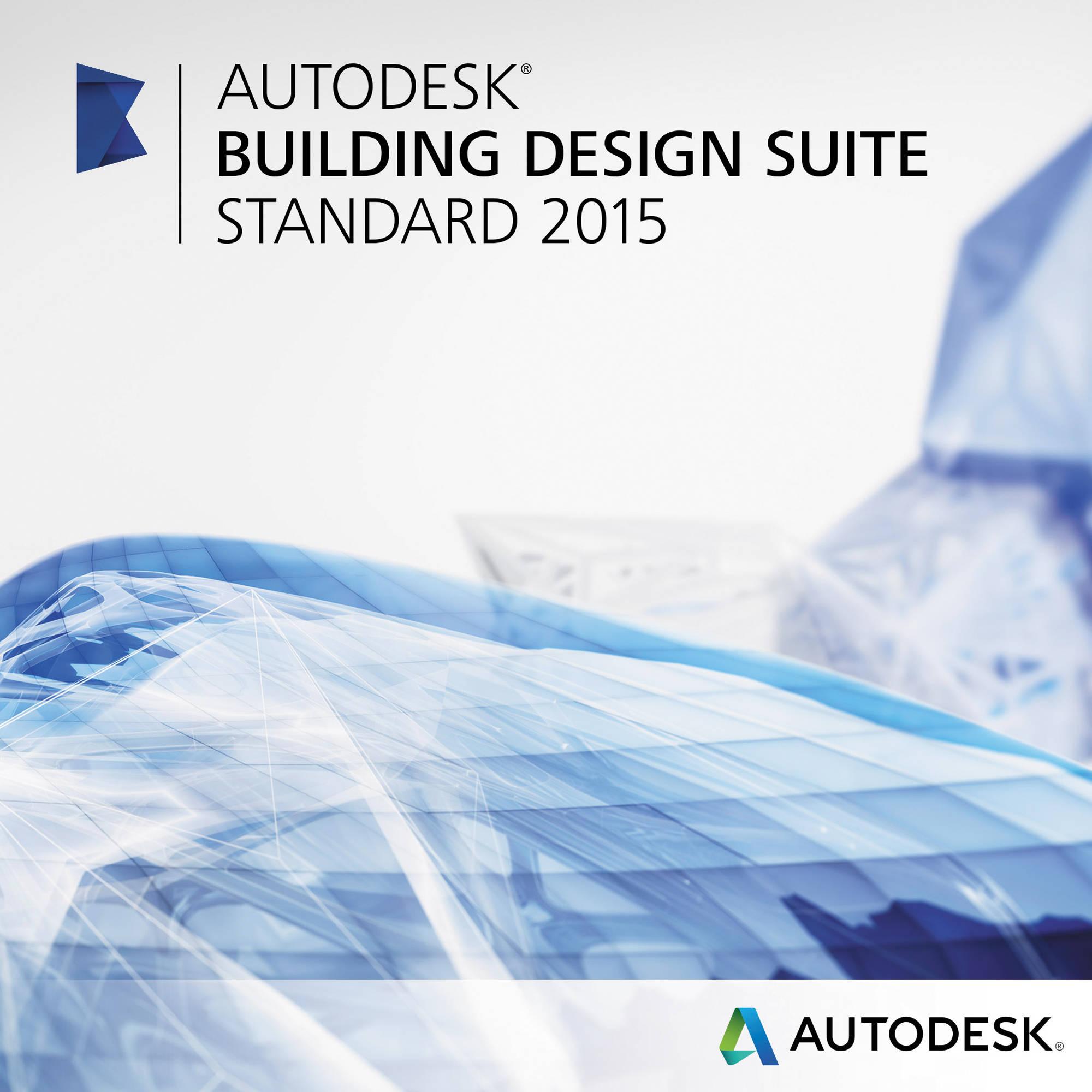 Autodesk Building Design Suite Standard 2015 784G1-WWR111-1001