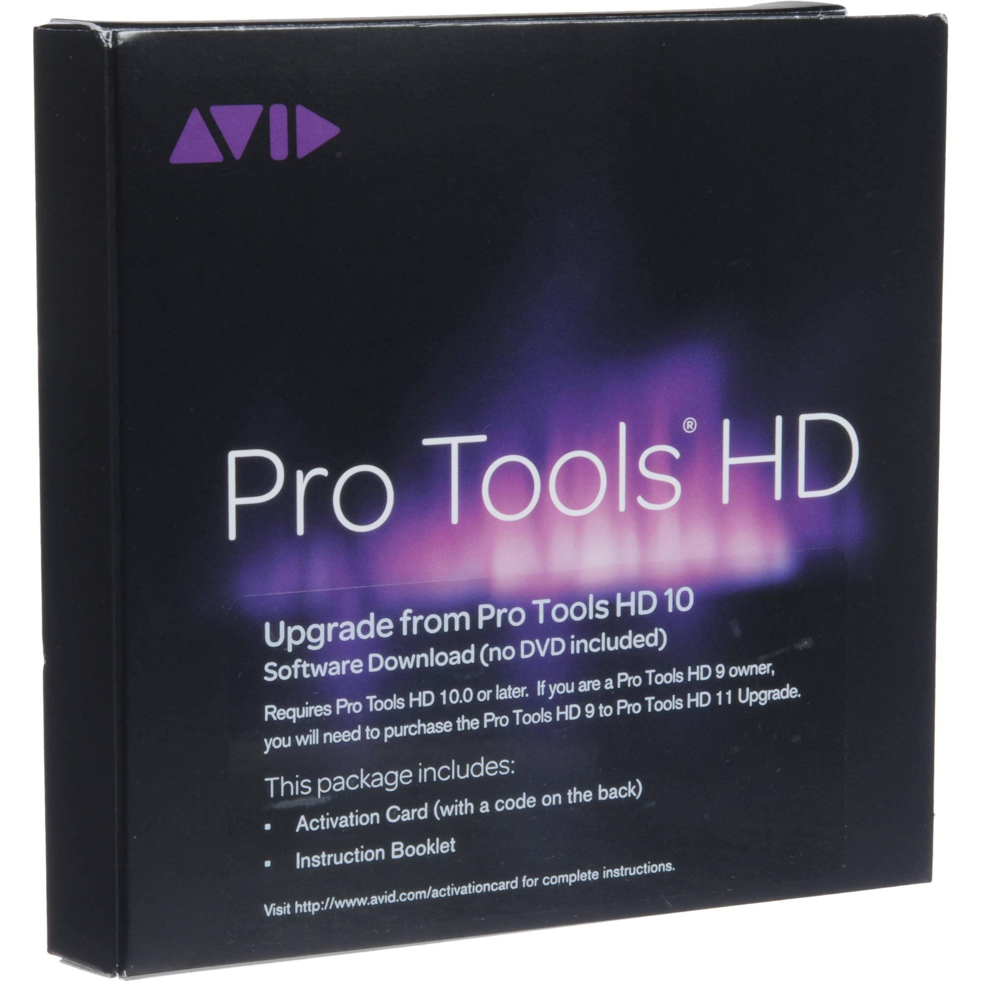 avid pro tools hd 11 professional audio software 9920 65116 00