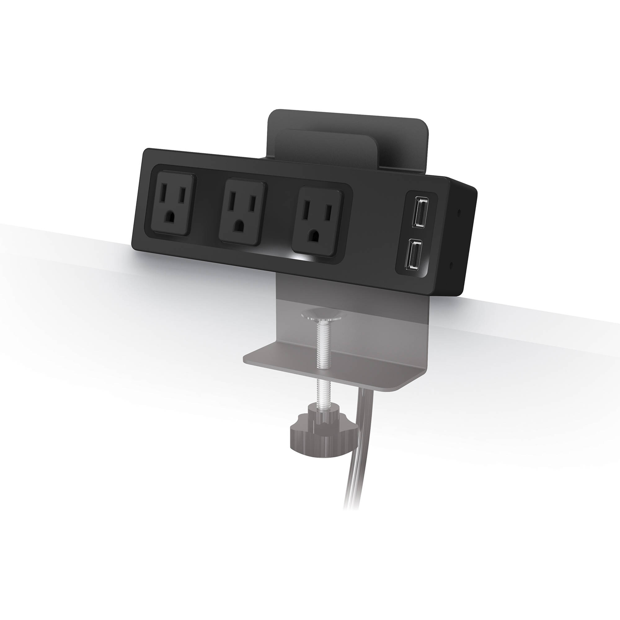 Balt Clamp Mount Usb Charger With 3 Ac S And 2 Ports
