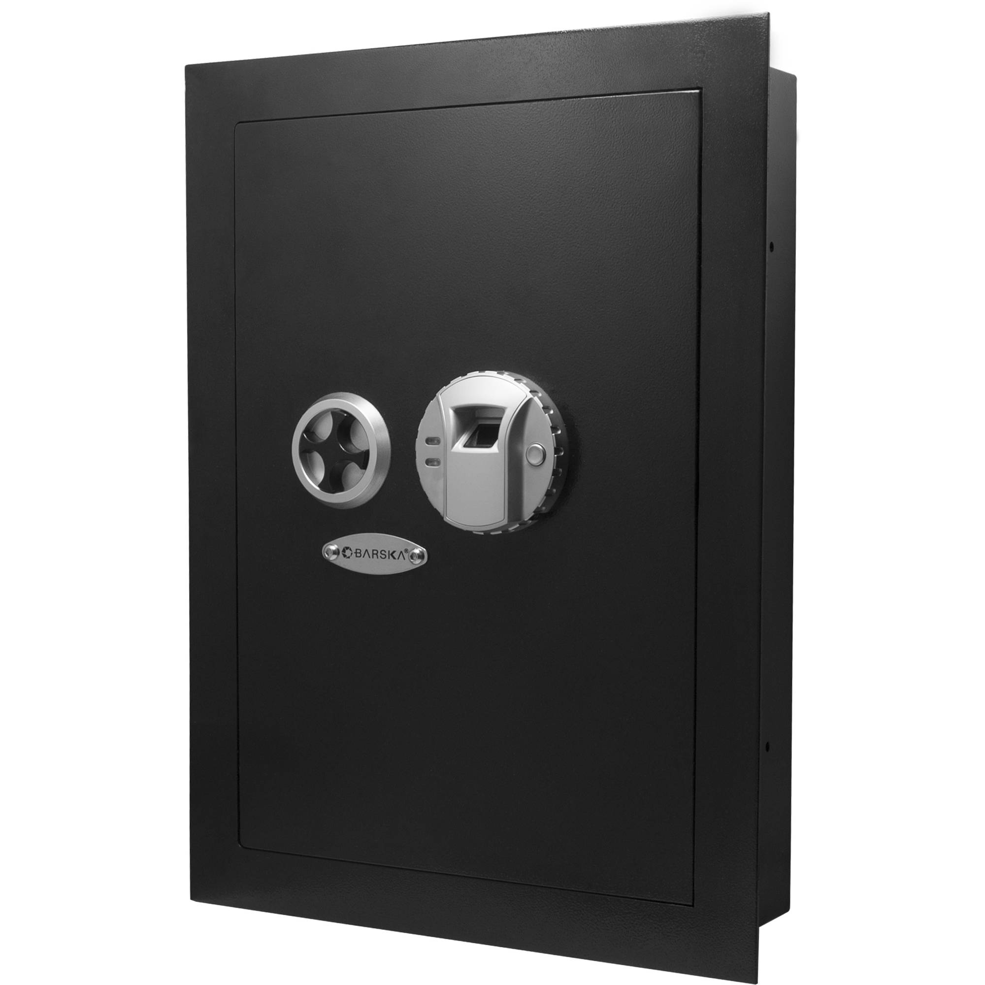 Barska Biometric Wall Safe AX12038 BH Photo Video