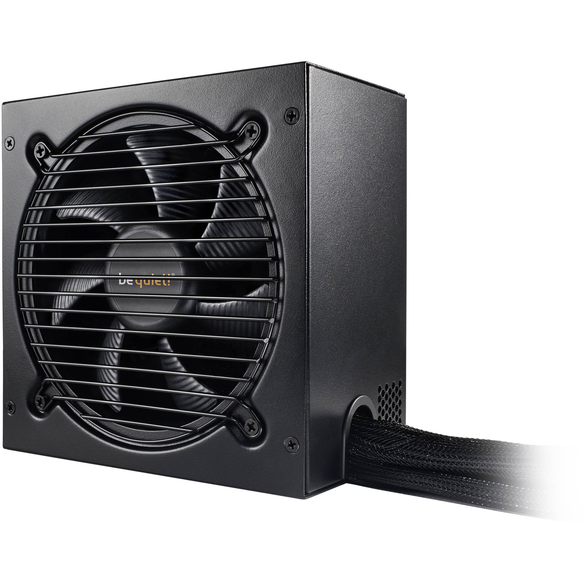 be quiet pure power 10 500w 80 plus silver power supply bn673