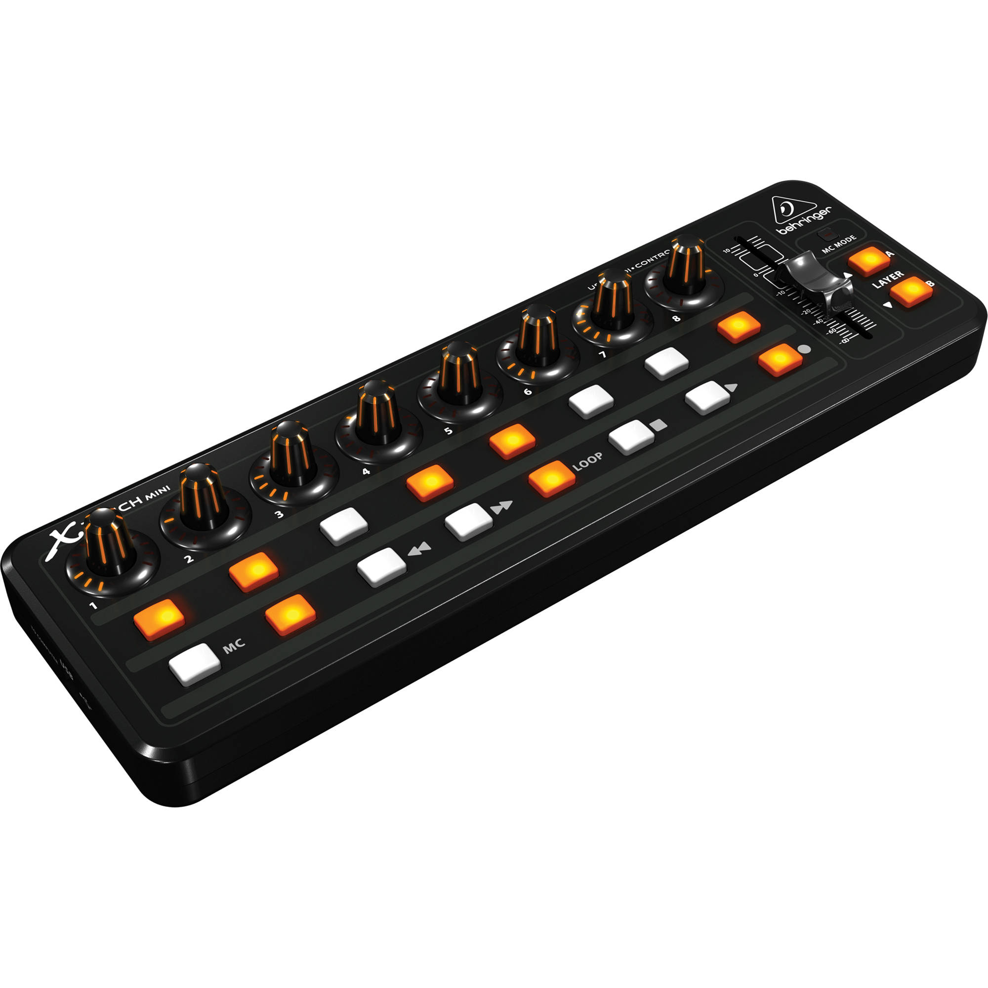 behringer x touch mini universal usb controller x touch mini b h. Black Bedroom Furniture Sets. Home Design Ideas