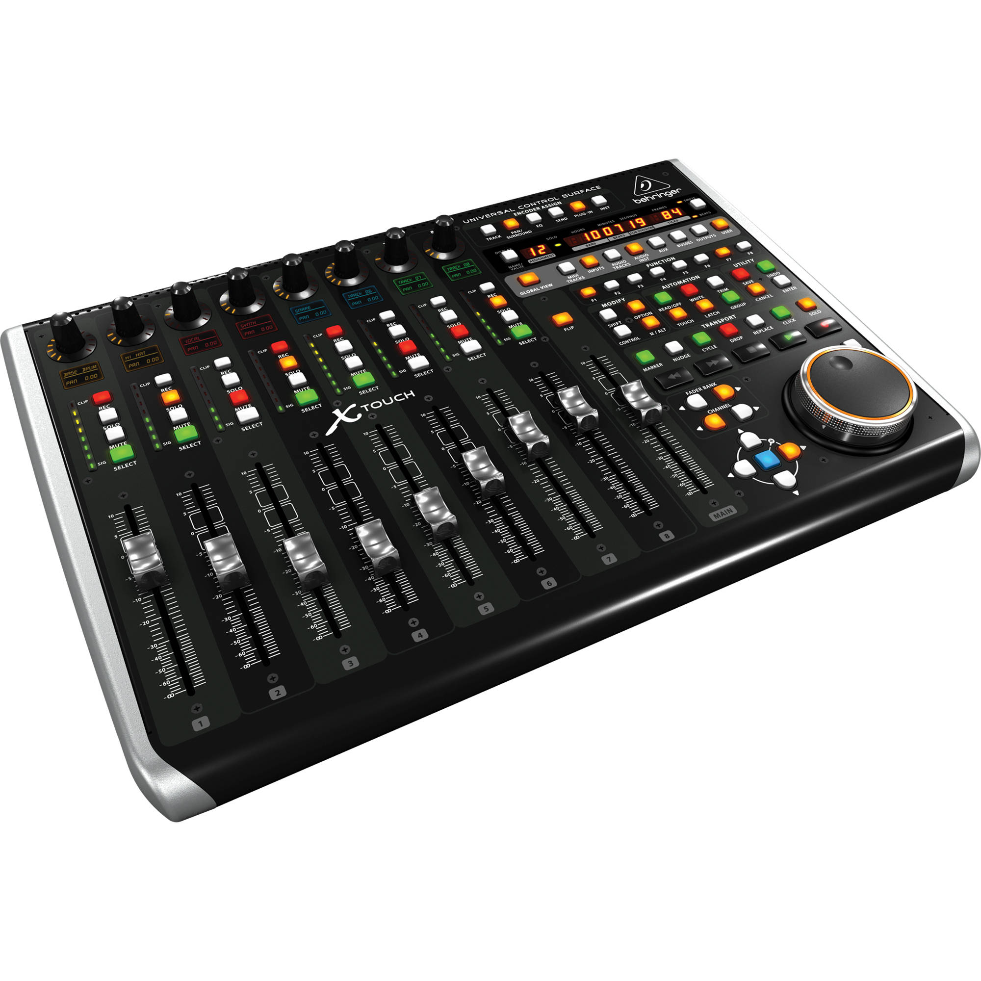 behringer x touch universal control surface x touch b h photo. Black Bedroom Furniture Sets. Home Design Ideas
