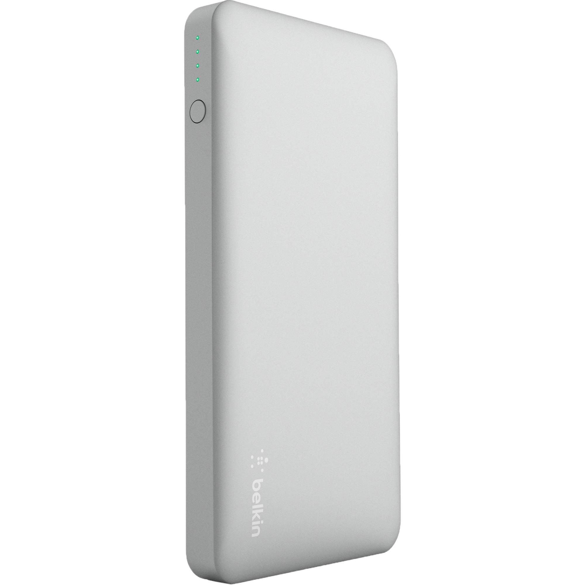 Belkin Pocket Power 10k Bank Silver F7u020btslv Bh Wk Design Powerbank Mirror 10000 Mah