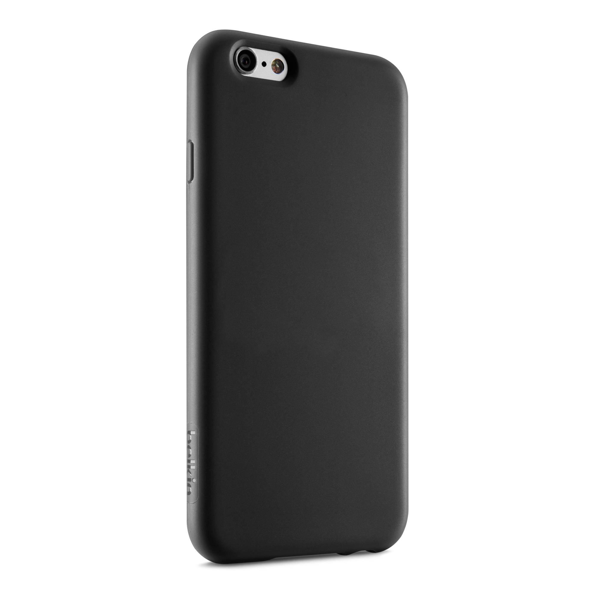 belkin grip case for iphone 6 6s black f8w604btc00 b h photo. Black Bedroom Furniture Sets. Home Design Ideas