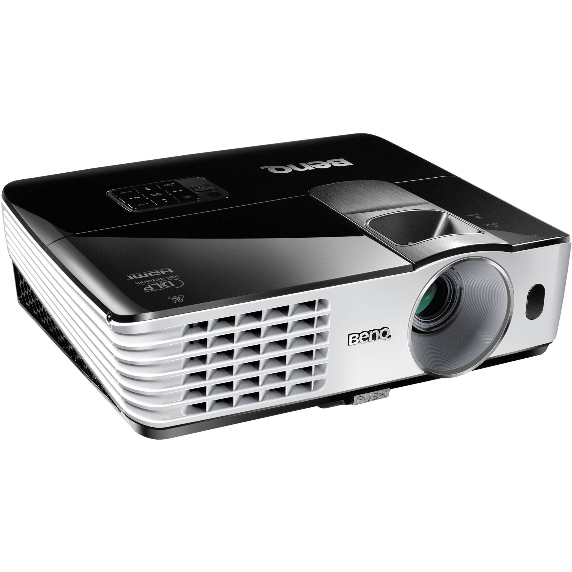 Benq mh680 full hd dlp projector mh680 b h photo video for Hd video projector