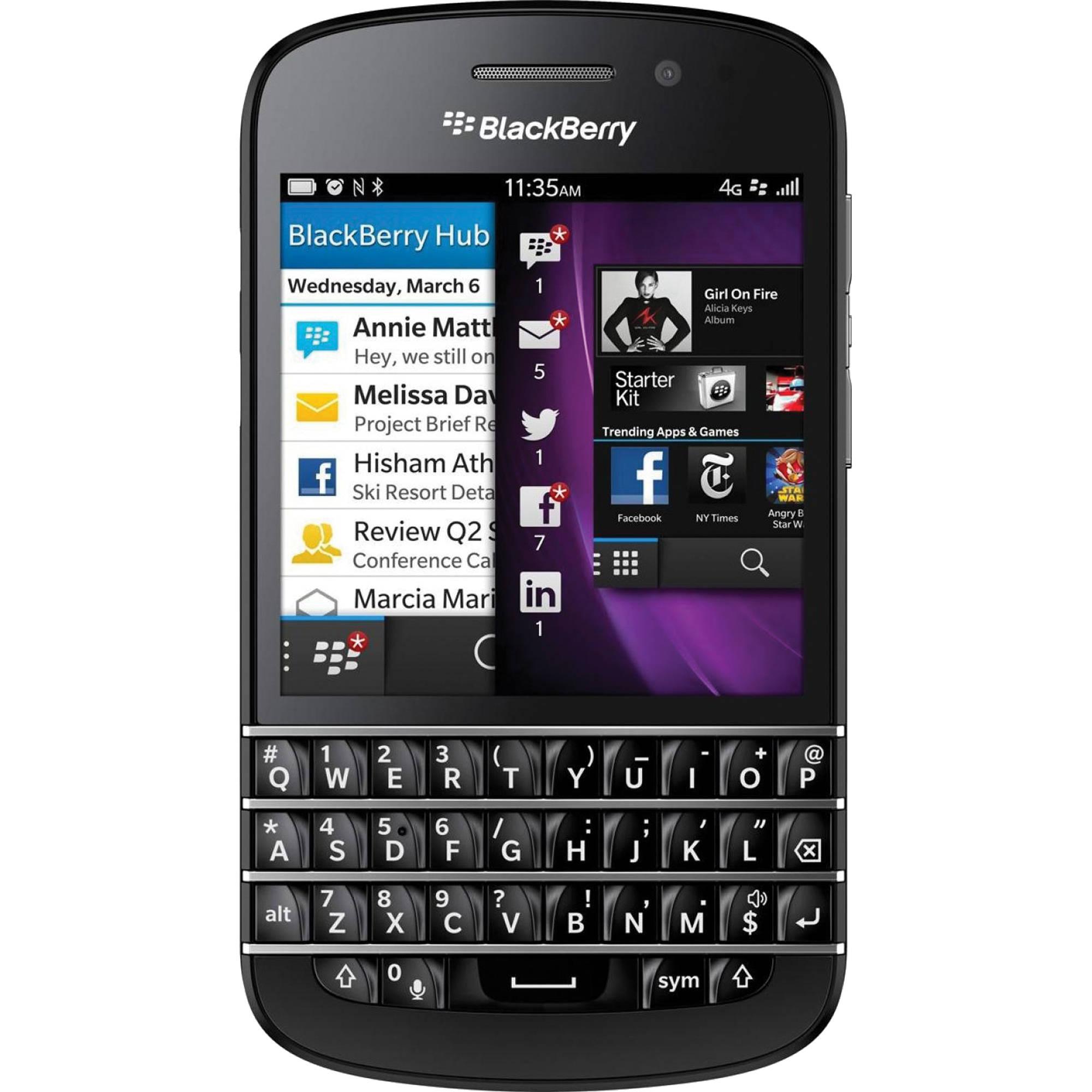 blackberry q10 sqn100 1 16gb at t branded smartphone q10 blk rh bhphotovideo com blackberry 10 user manual blackberry q10 user manual