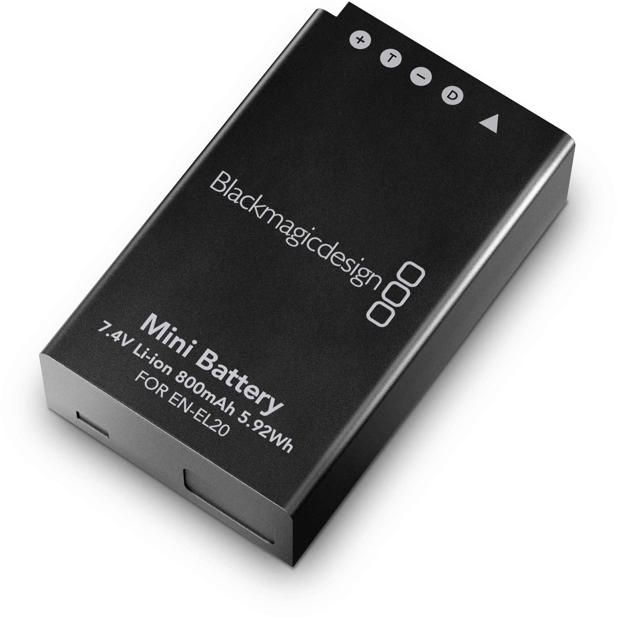 7767f05ea69e Blackmagic Design Pocket Cinema Camera Battery BMPCCASS BATT B H
