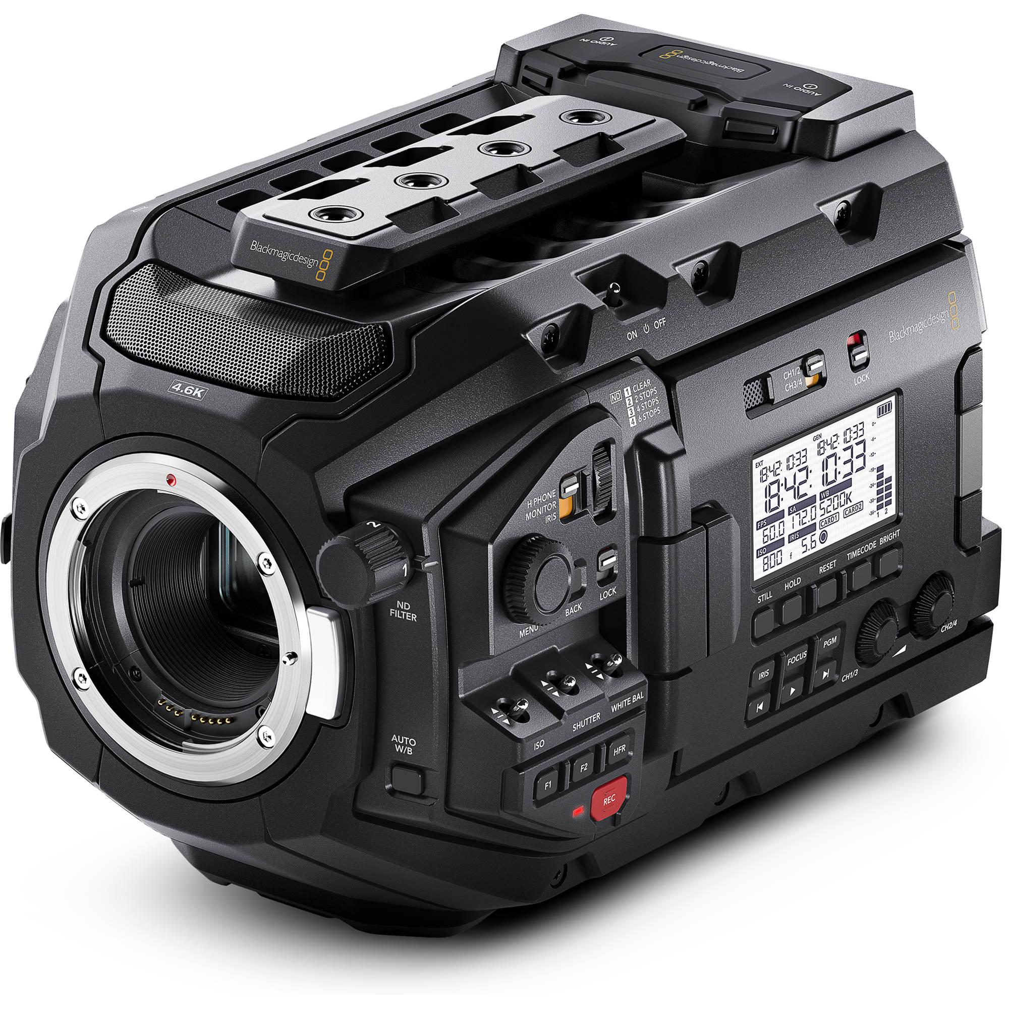 Blackmagic Design URSA Mini Pro 4 6K Digital Cinema Camera