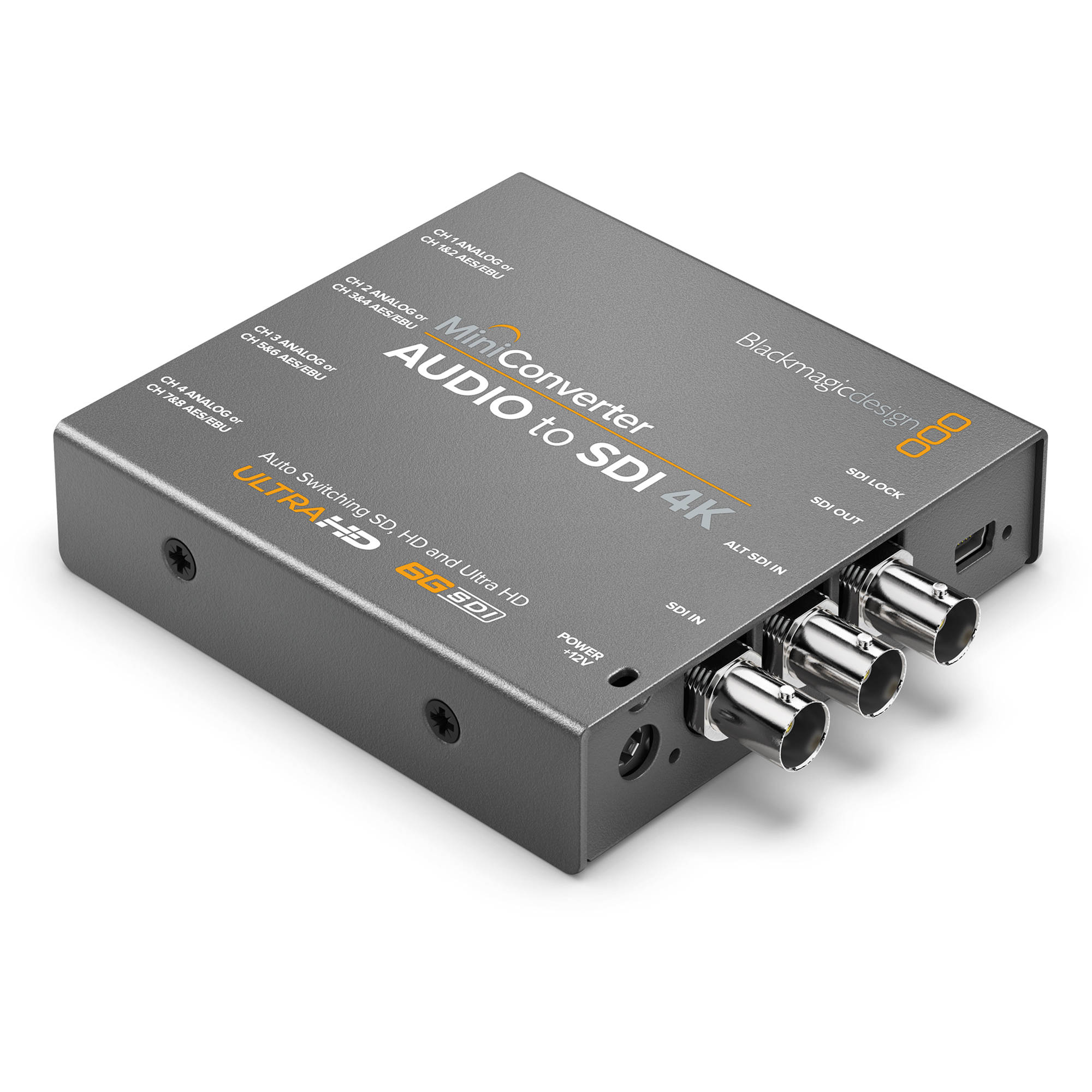 Blackmagic design mini converter audio to sdi 4k convmcauds4k for Convert image to blueprint online