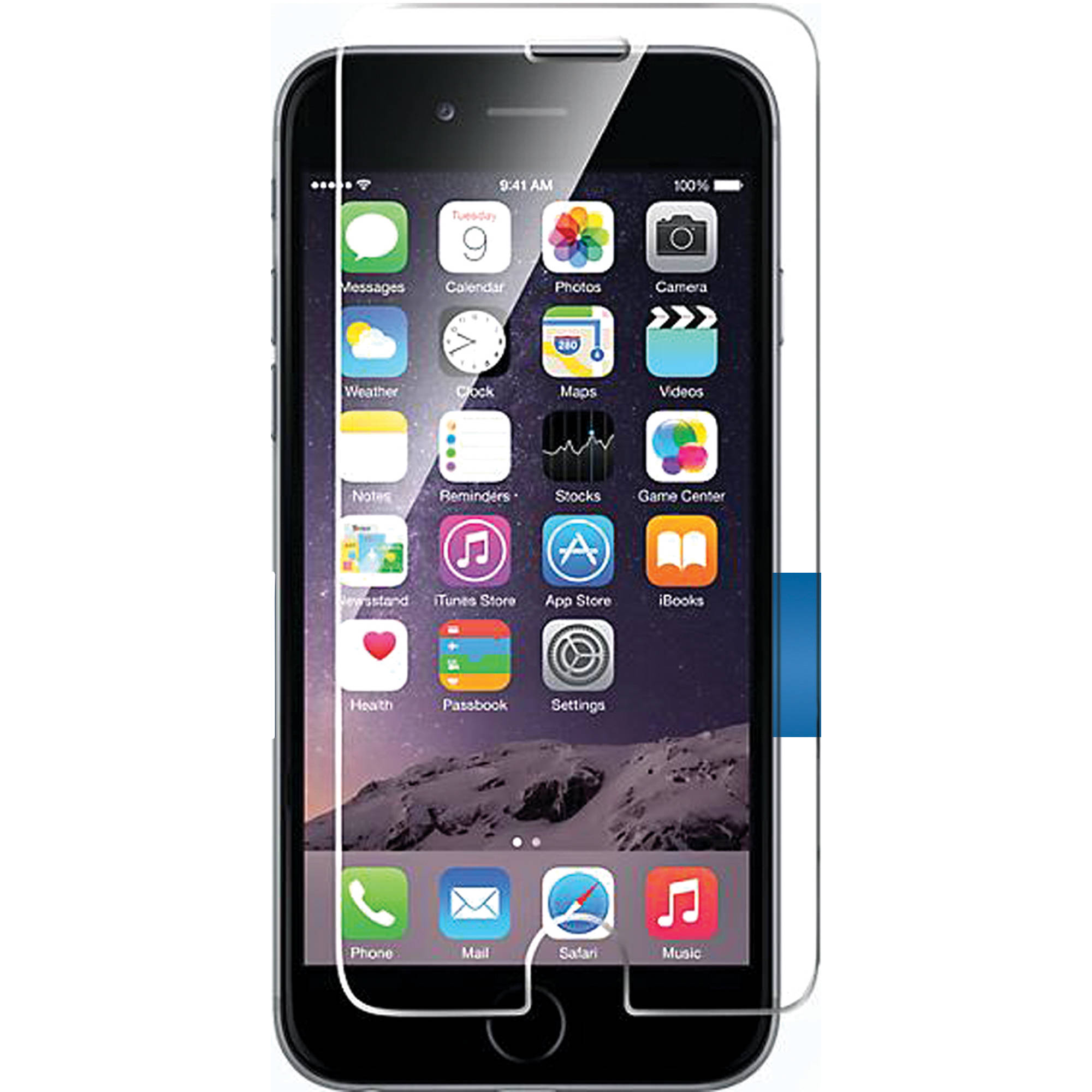 glass for iphone 6 bloopro clear premium tempered glass for iphone 6 blp 14192