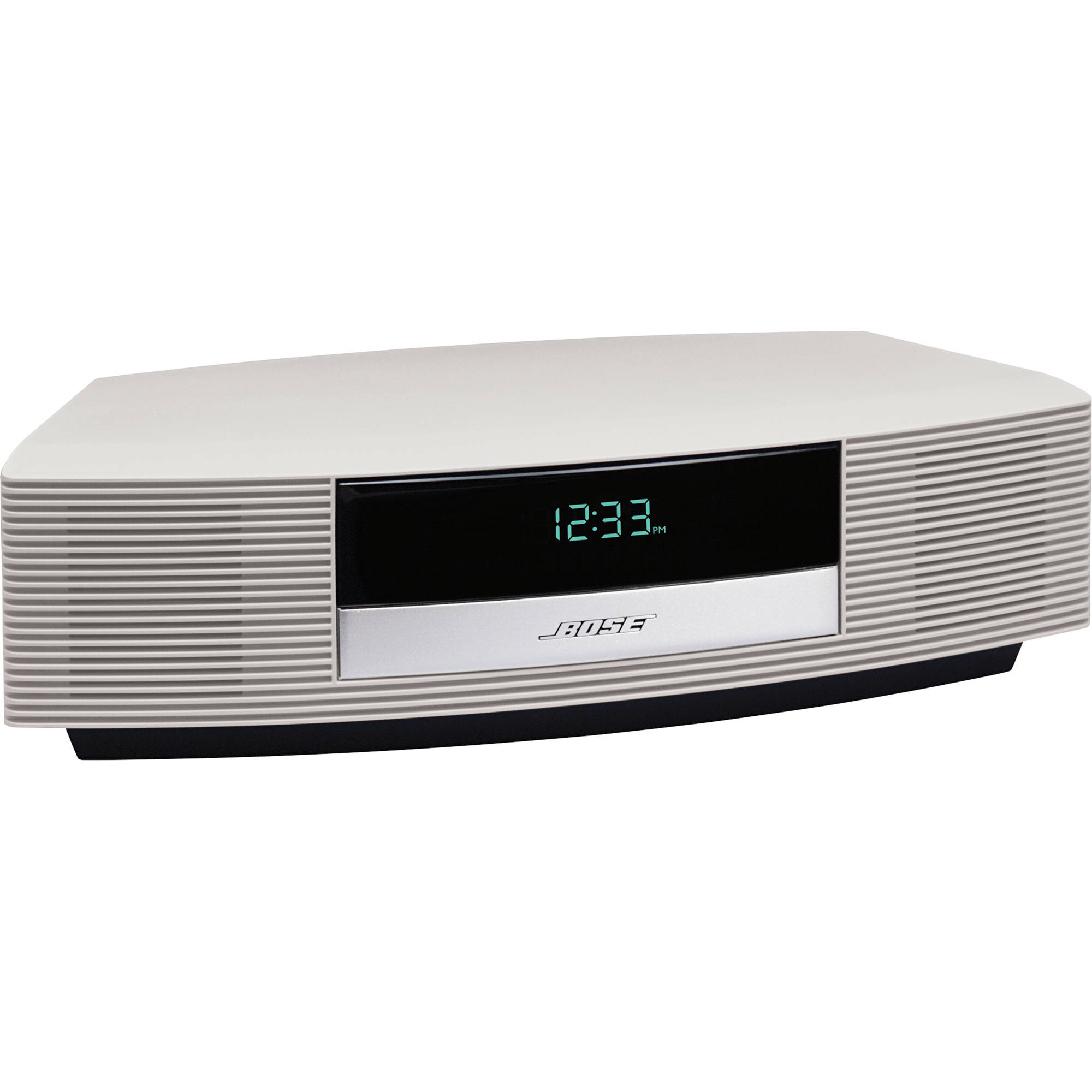 bose wave radio iii platinum white 343207 1210 b h photo. Black Bedroom Furniture Sets. Home Design Ideas