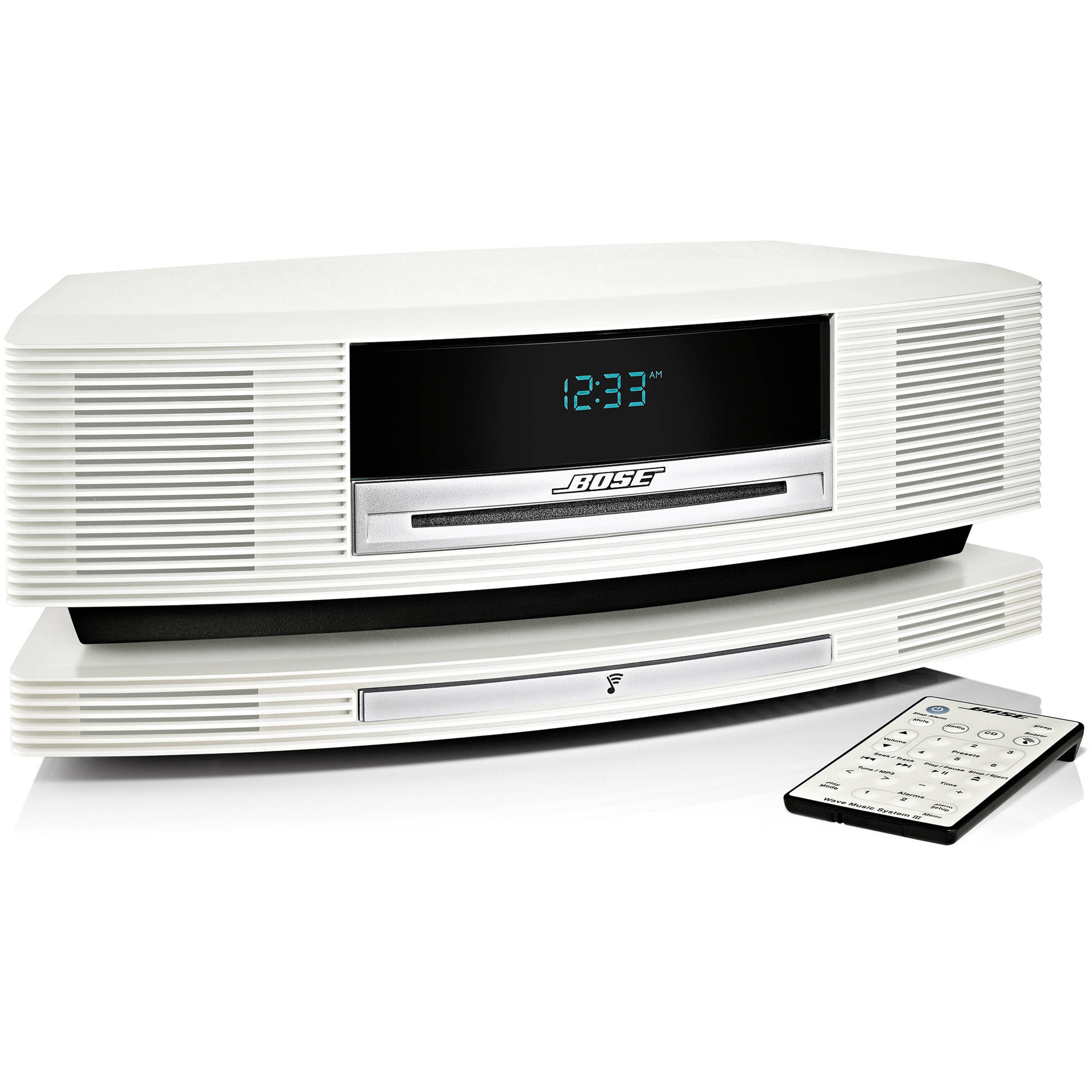 bose wave soundtouch music system platinum white 369754 1210. Black Bedroom Furniture Sets. Home Design Ideas