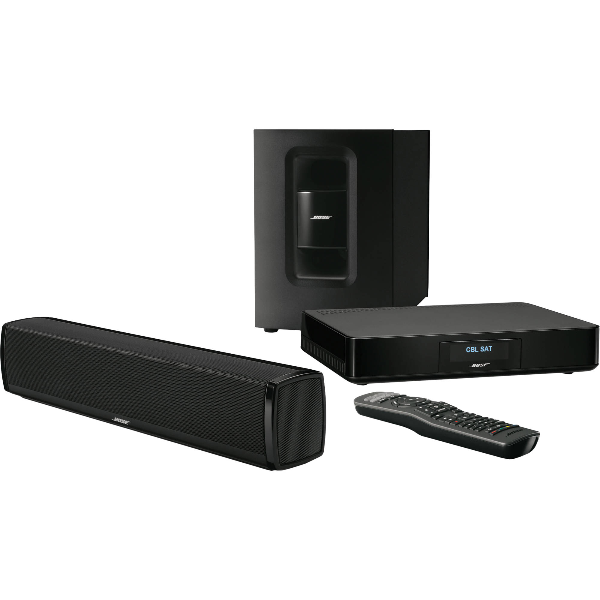 bose cinemate 120 home theater system 625906 1300 b h photo. Black Bedroom Furniture Sets. Home Design Ideas