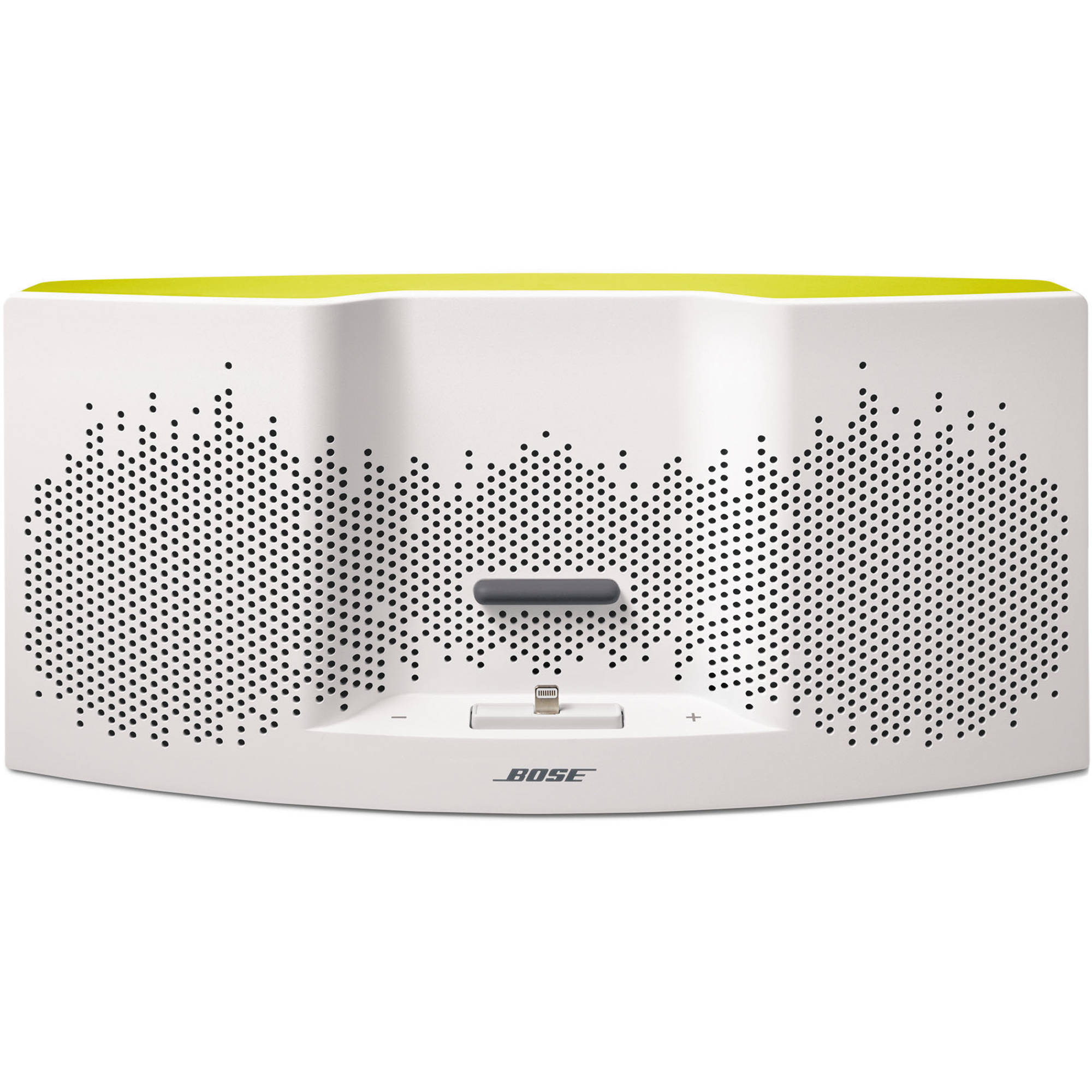 bose sounddock xt speaker white yellow 626209 1900 b h photo. Black Bedroom Furniture Sets. Home Design Ideas