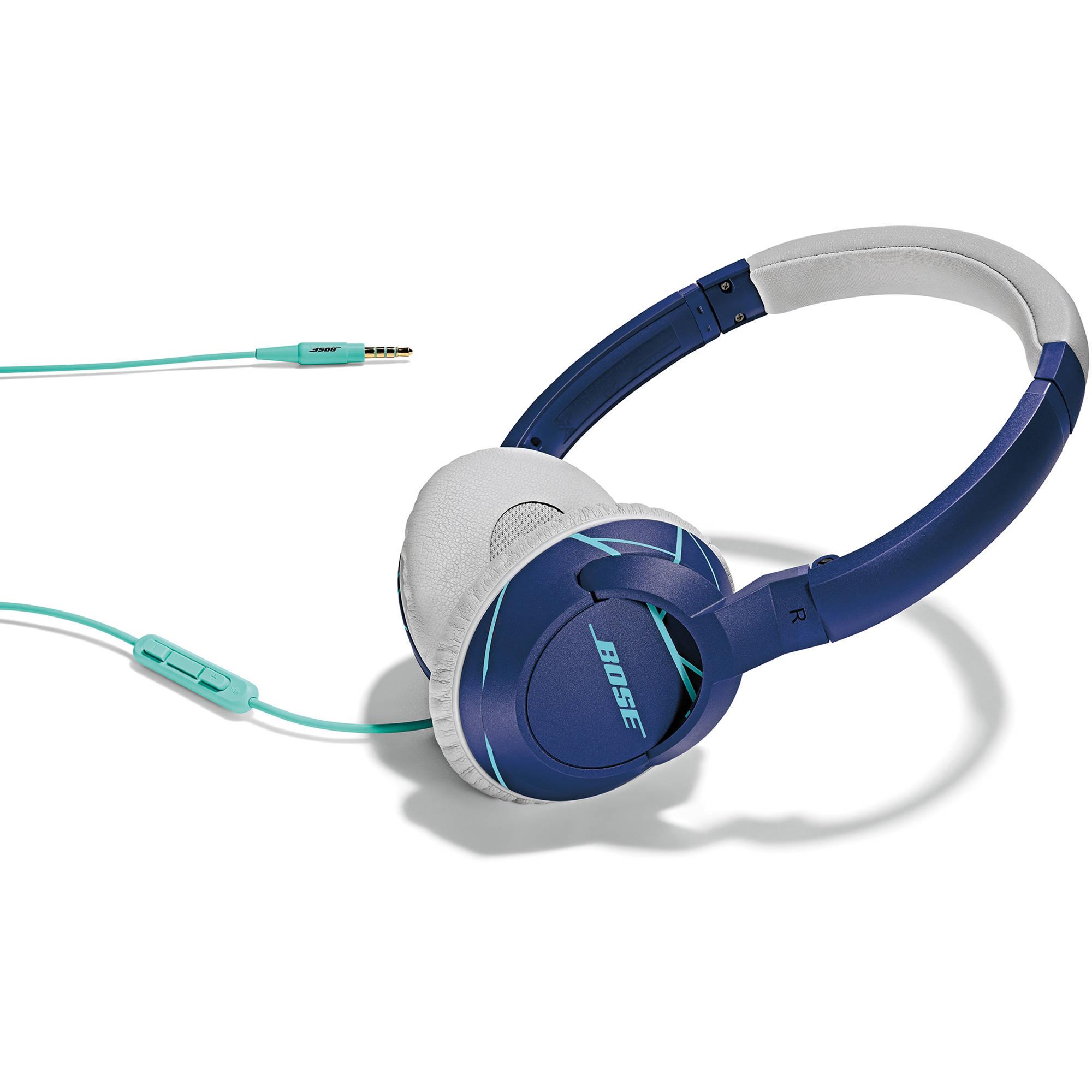 bose on ear headphones. bose soundtrue on-ear headphones (purple and mint) on ear