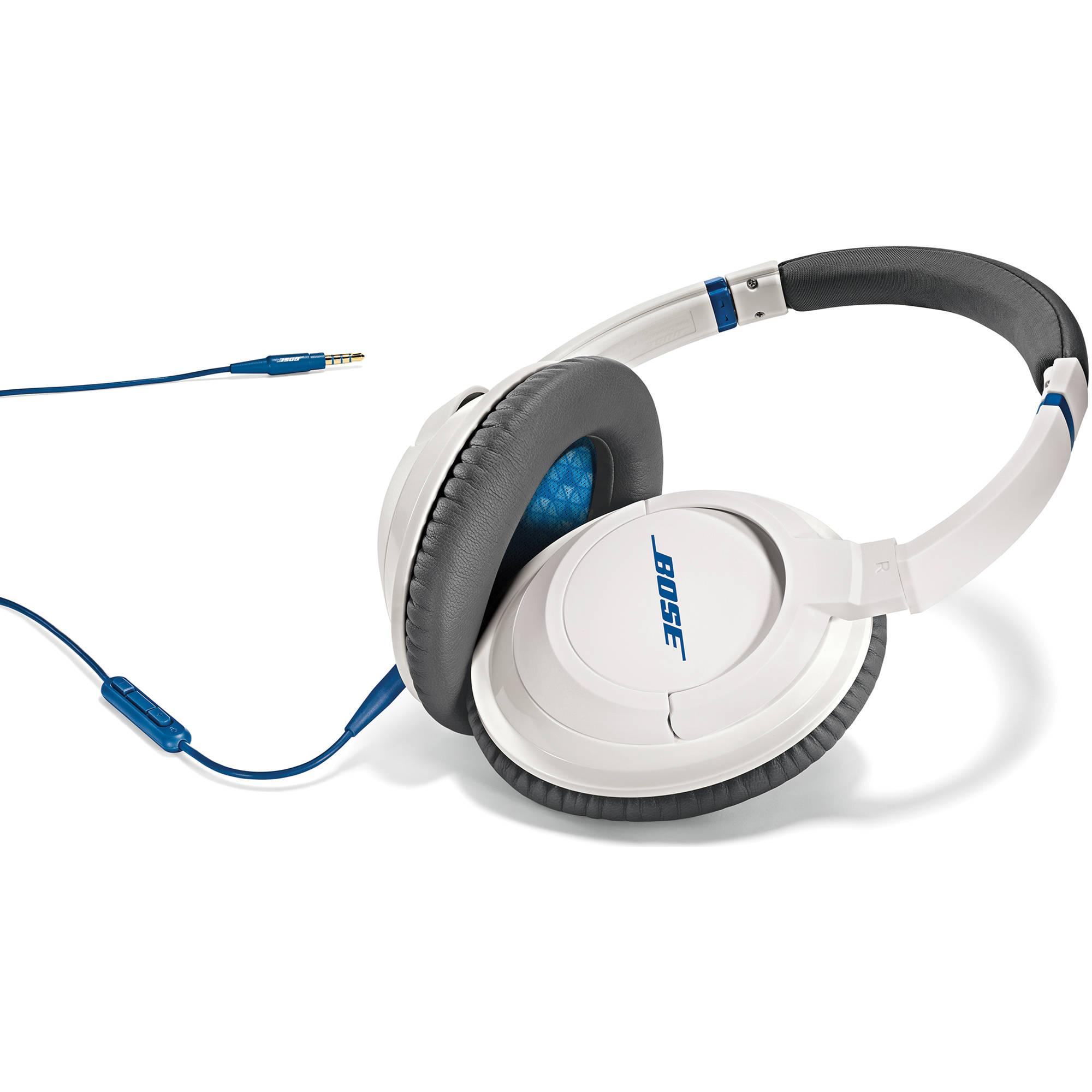 Bose Audio >> Bose SoundTrue Around-Ear Headphones (White) 626238-0020 B&H