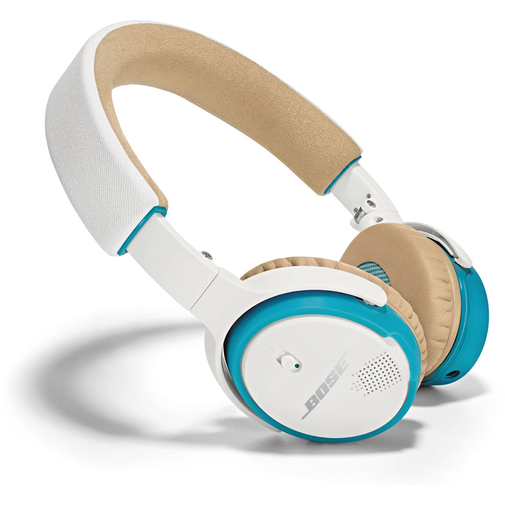 Bose SoundLink On-Ear Bluetooth Headphones (White and Blue)