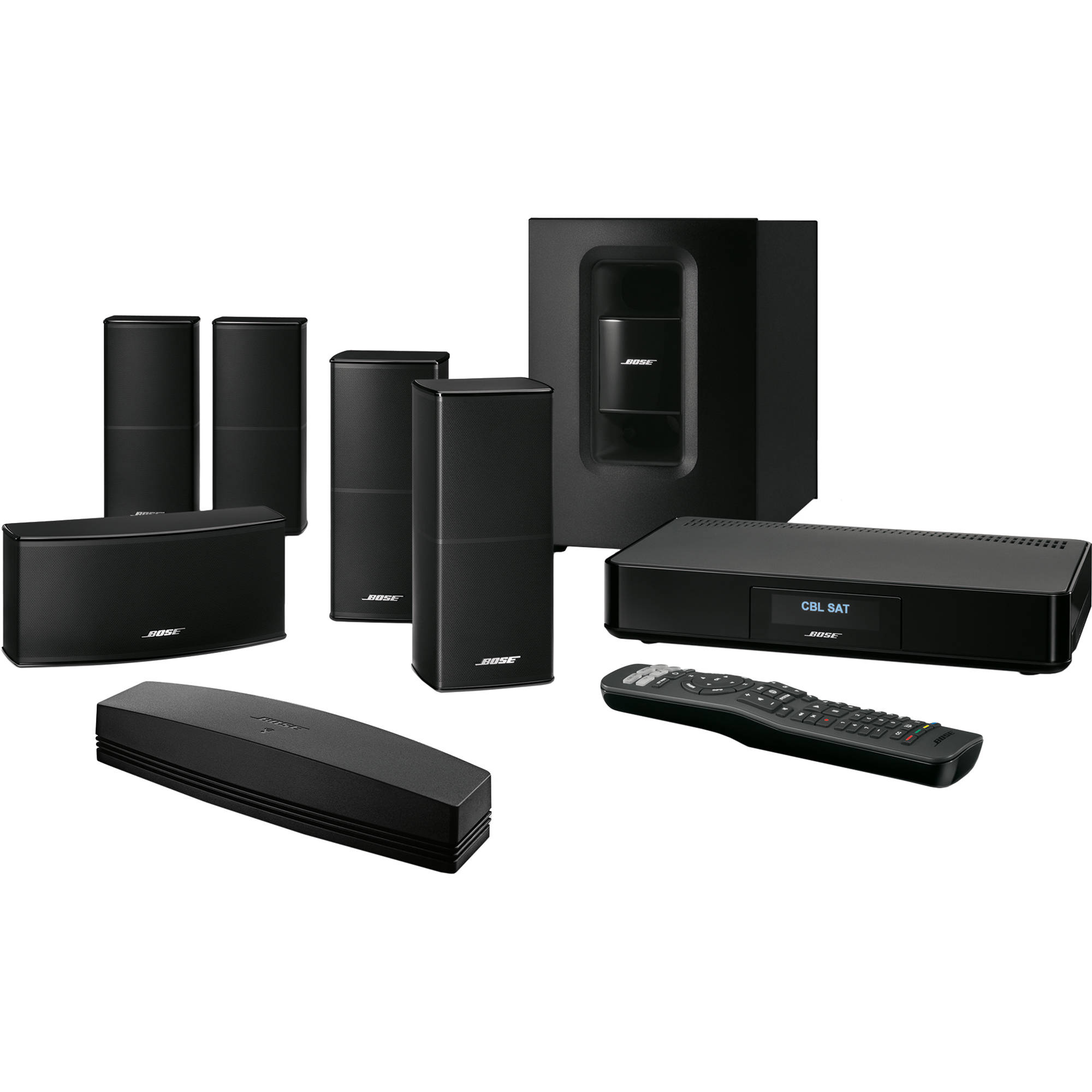 bose soundtouch 520 home theater system black 738377. Black Bedroom Furniture Sets. Home Design Ideas