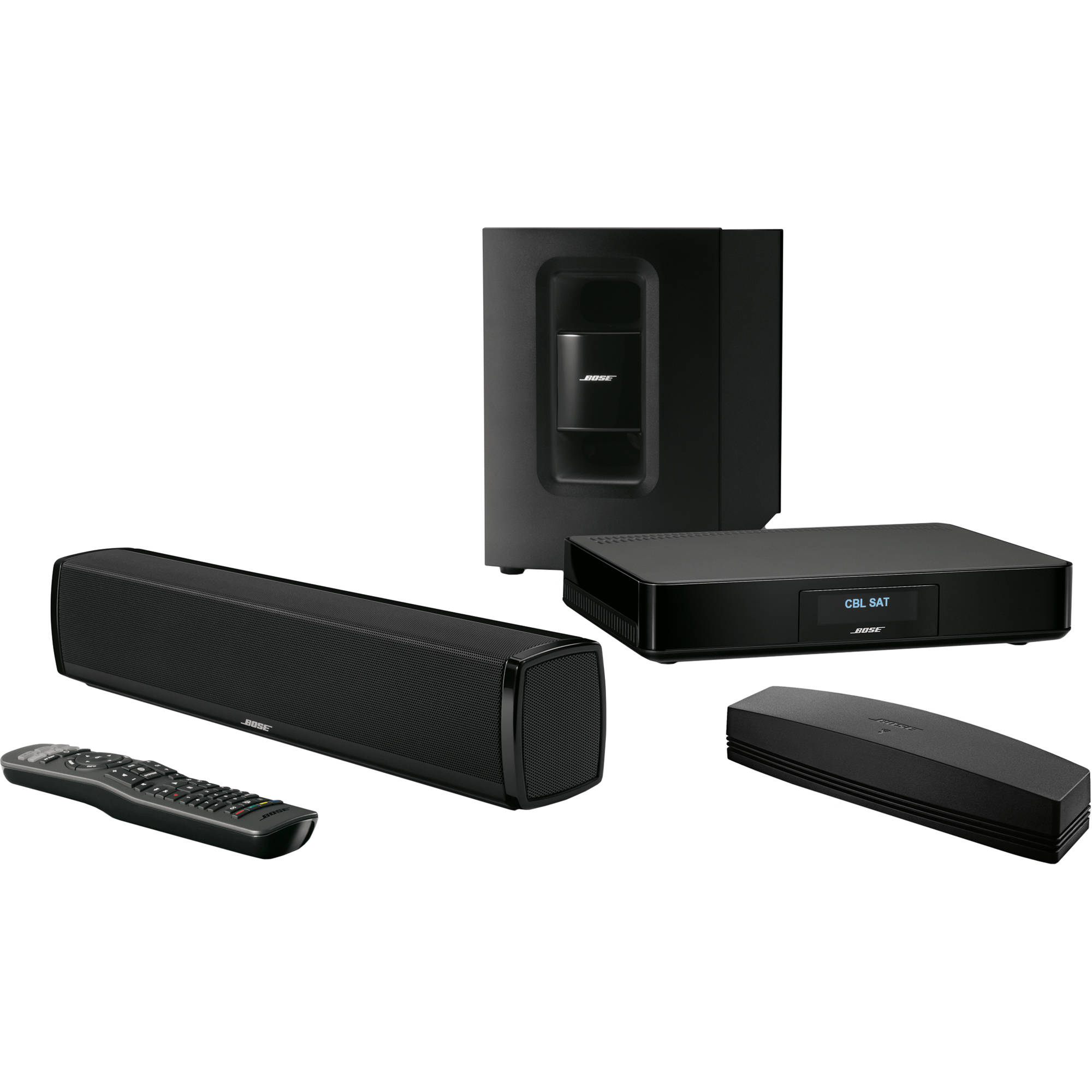 bose soundtouch 120 home theater system black 738478 1100 b h. Black Bedroom Furniture Sets. Home Design Ideas